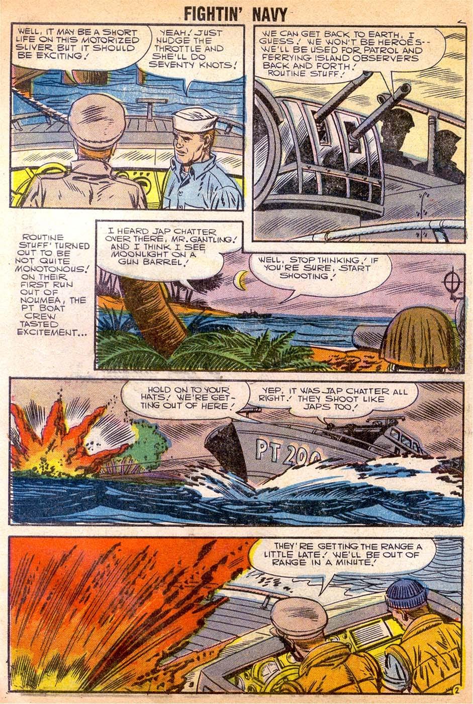 Read online Fightin' Navy comic -  Issue #79 - 4