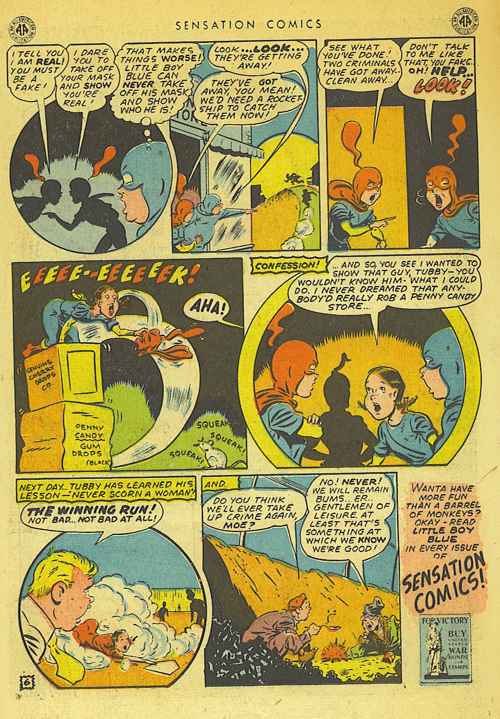 Read online Sensation (Mystery) Comics comic -  Issue #42 - 21