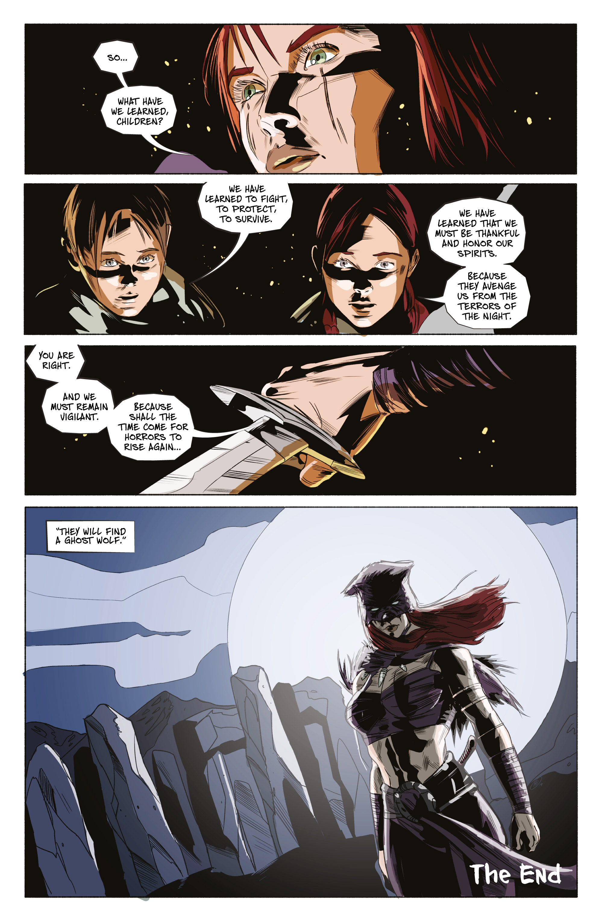 Read online Ghost Wolf comic -  Issue #4 - 29