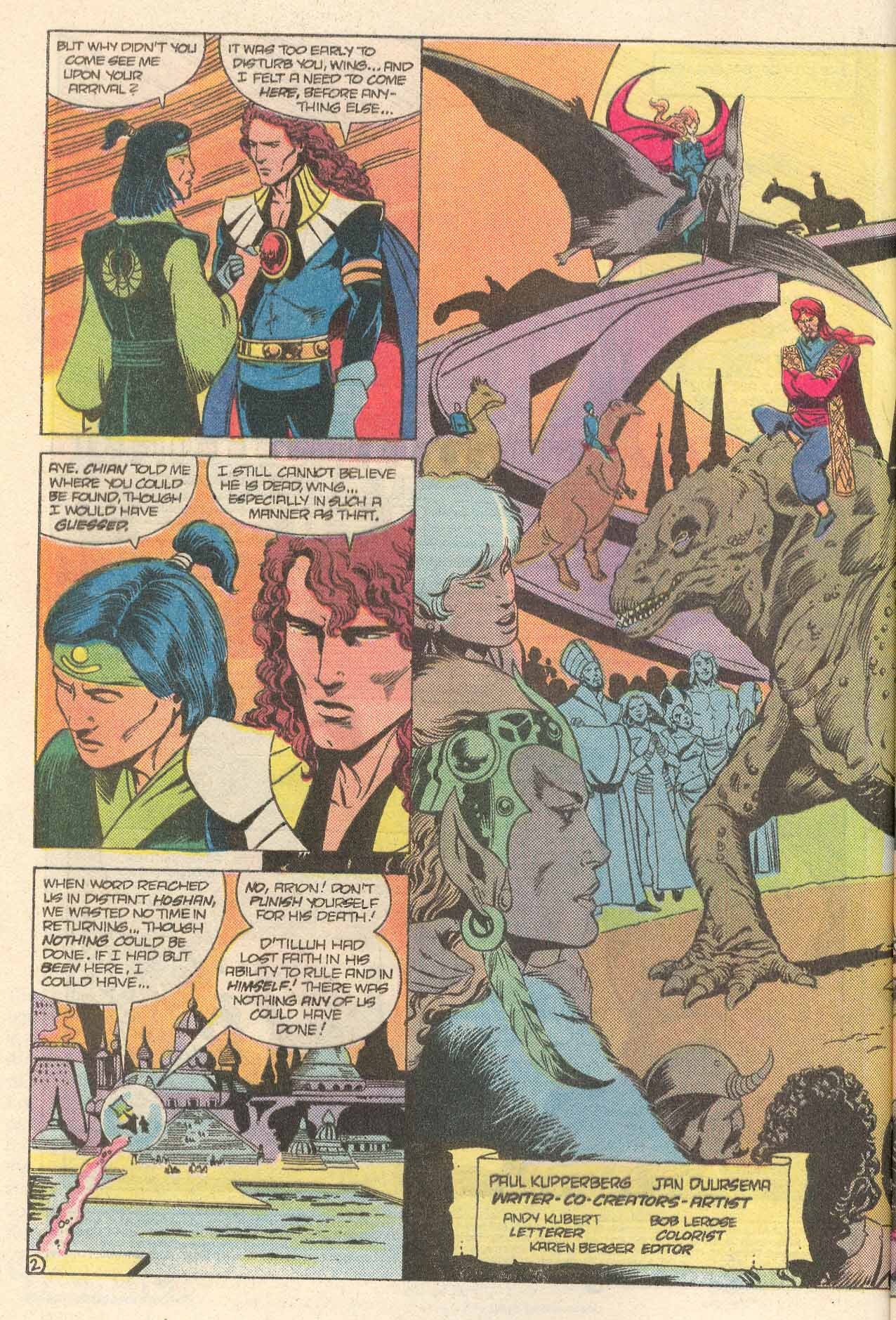 Read online Arion, Lord of Atlantis comic -  Issue #34 - 3
