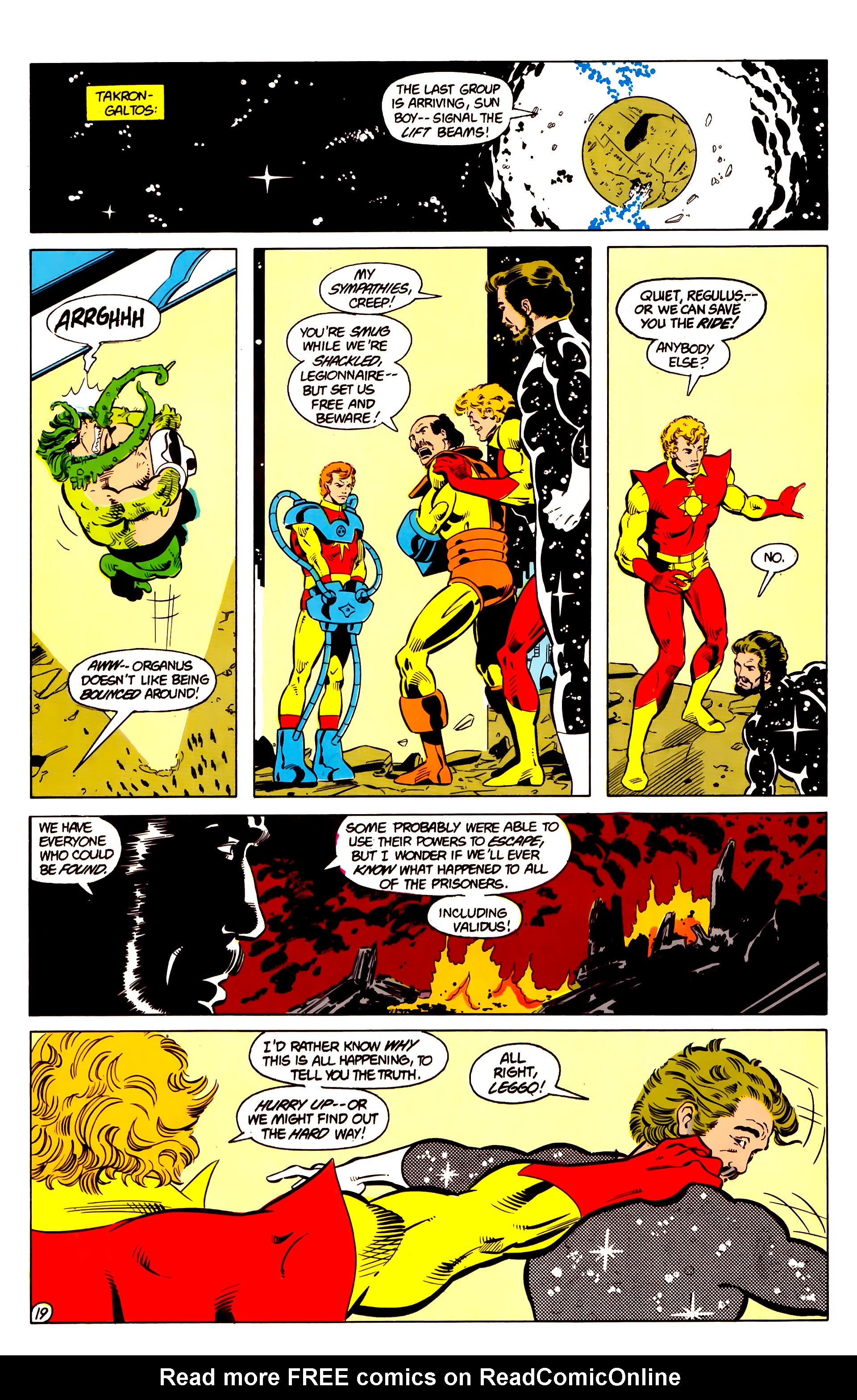 Legion of Super-Heroes (1984) 18 Page 19