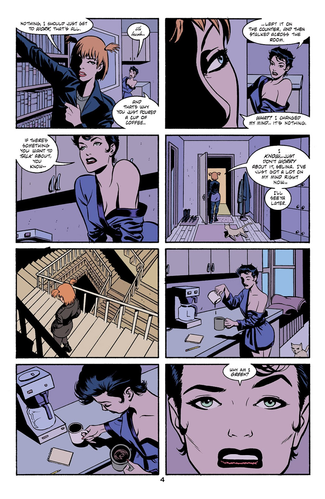 Catwoman (2002) Issue #6 #6 - English 5