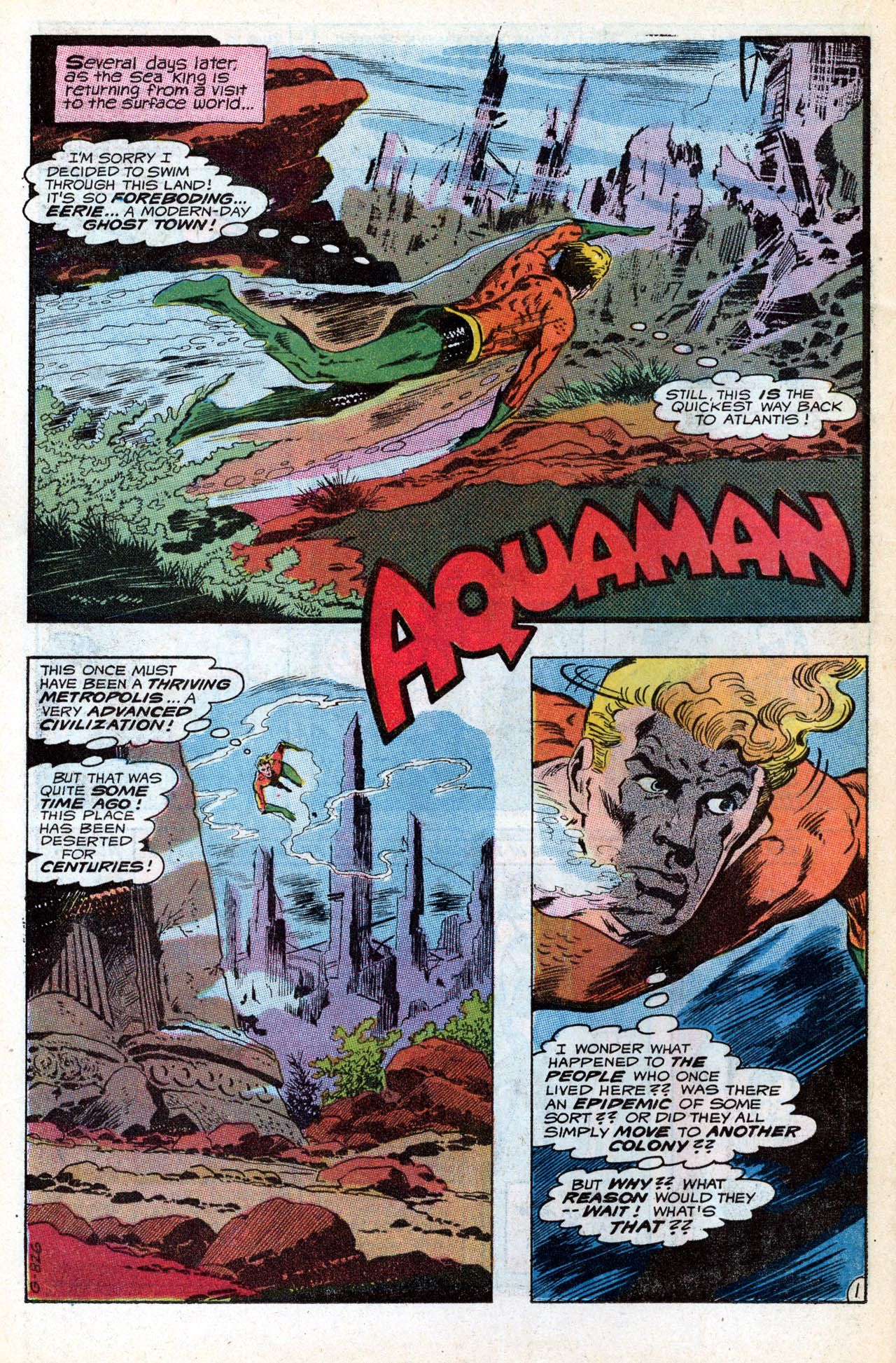 Read online Aquaman (1962) comic -  Issue #55 - 22
