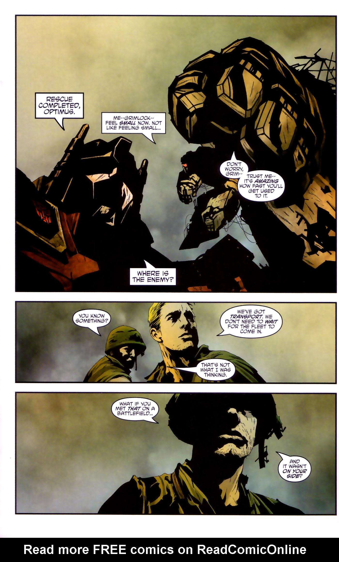 Read online Transformers/G.I. Joe comic -  Issue #4 - 14
