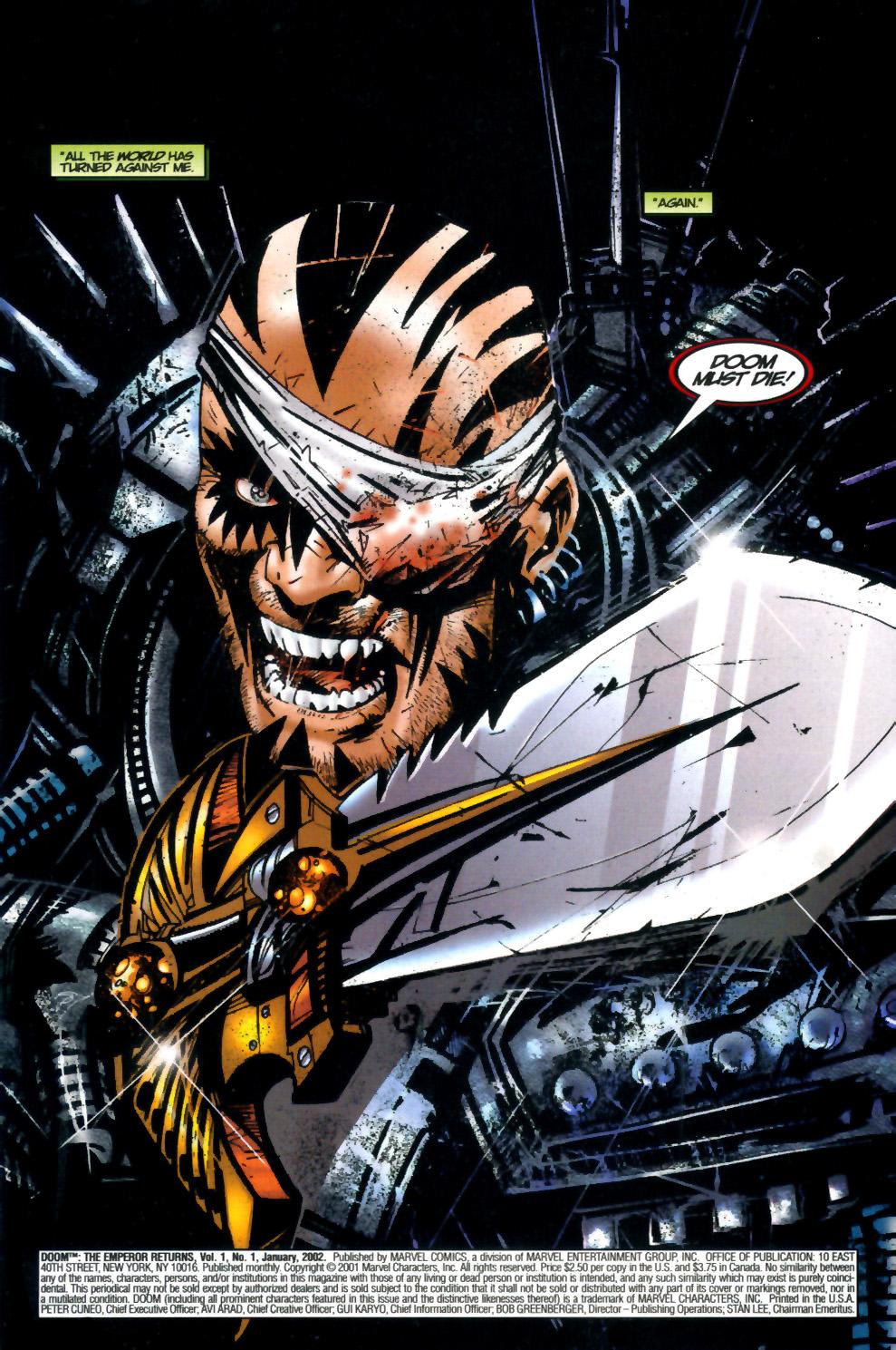 Read online Doom: The Emperor Returns comic -  Issue #2 - 2