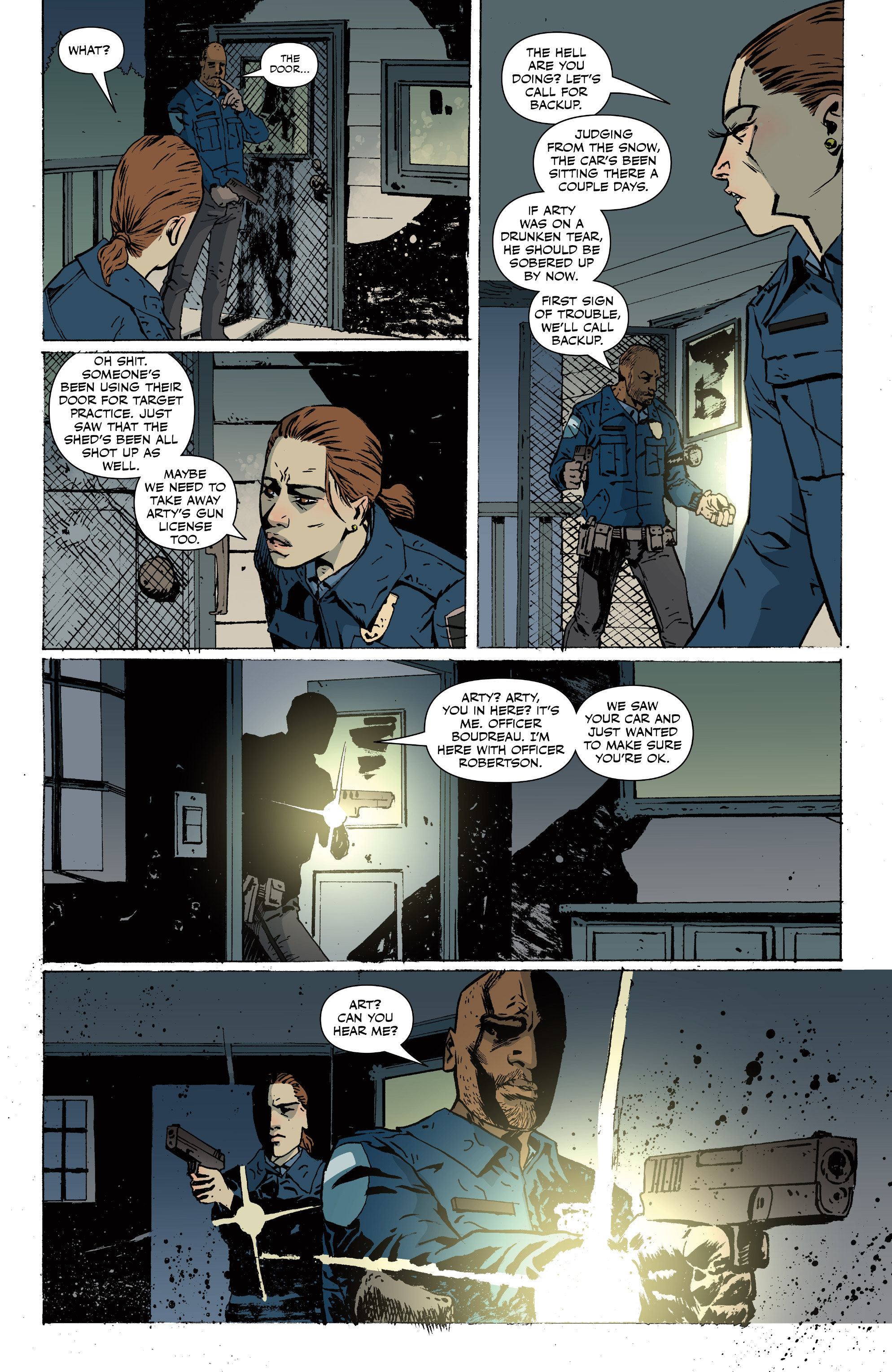 Read online Sheltered comic -  Issue #11 - 20