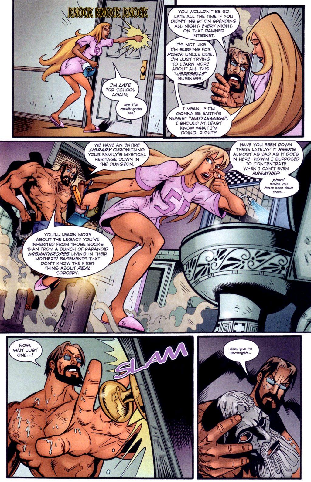 Read online Jezebelle comic -  Issue #4 - 4