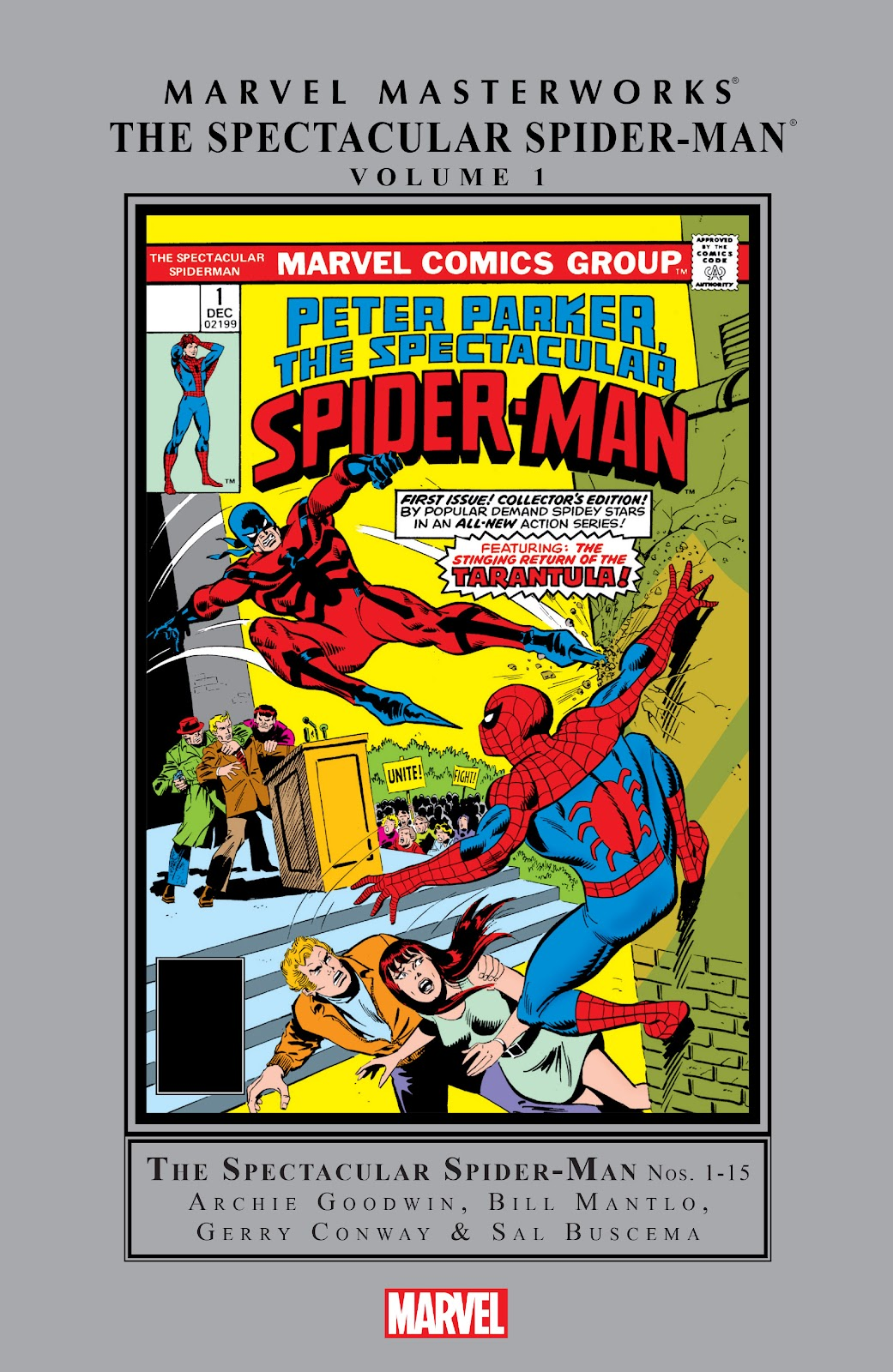 Read online Marvel Masterworks: The Spectacular Spider-Man comic -  Issue # TPB (Part 1) - 1