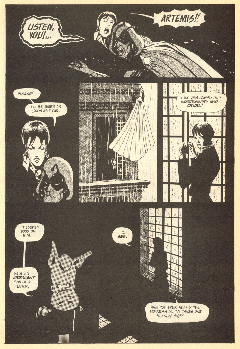 Cerebus Issue #33 #33 - English 7