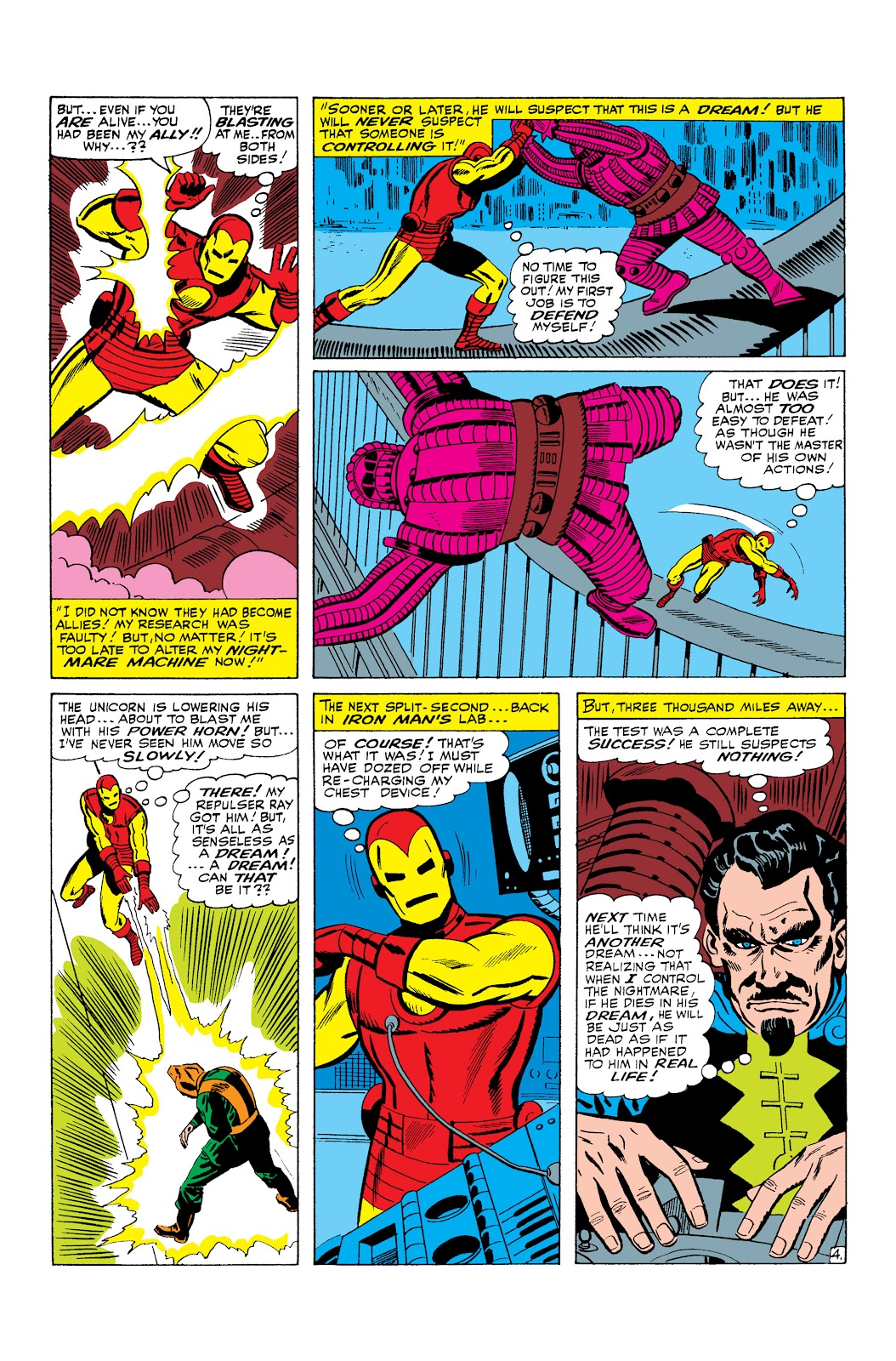 Read online Marvel Masterworks: The Invincible Iron Man comic -  Issue # TPB 3 (Part 1) - 30