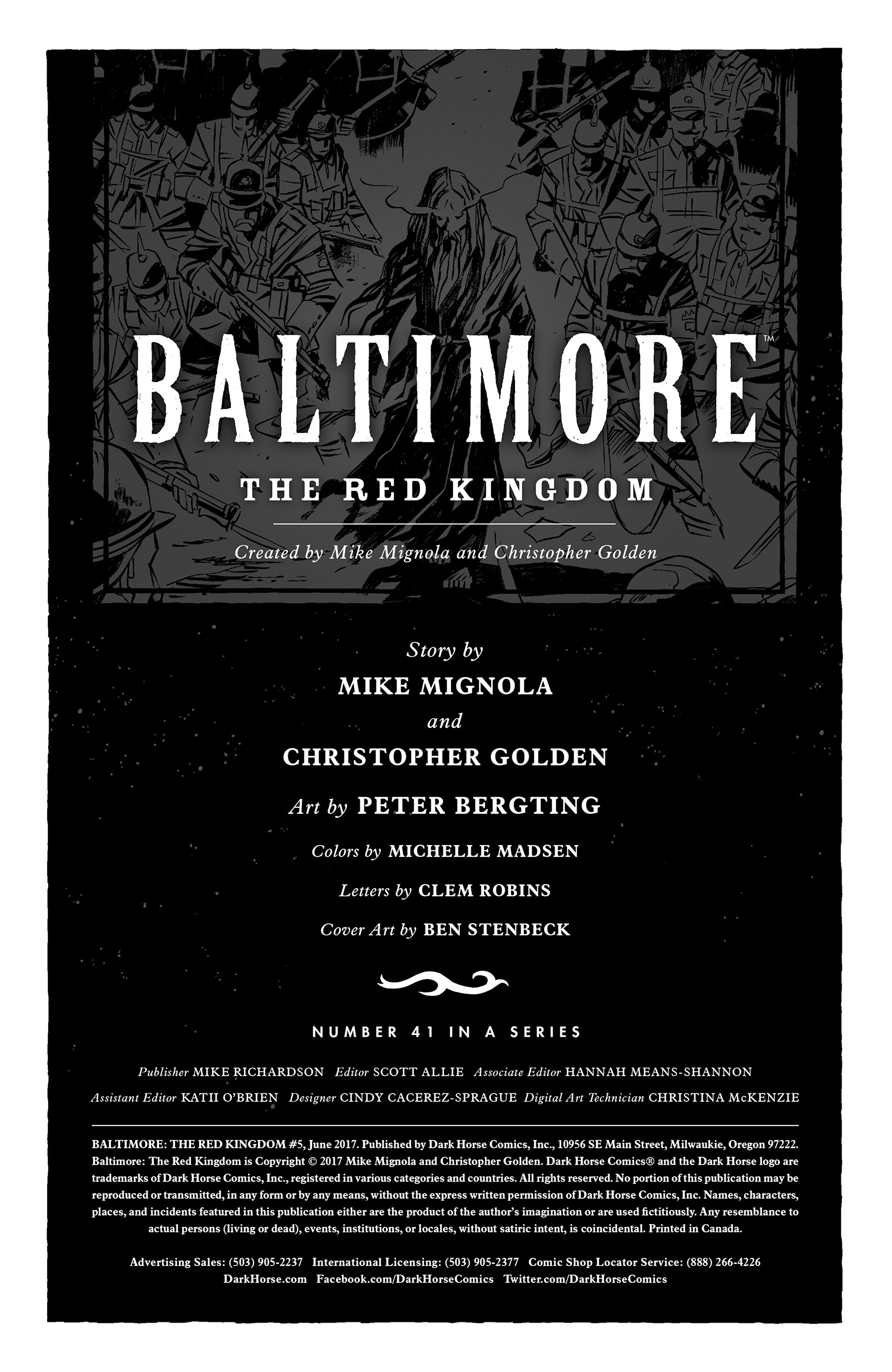 Read online Baltimore: The Red Kingdom comic -  Issue #5 - 2