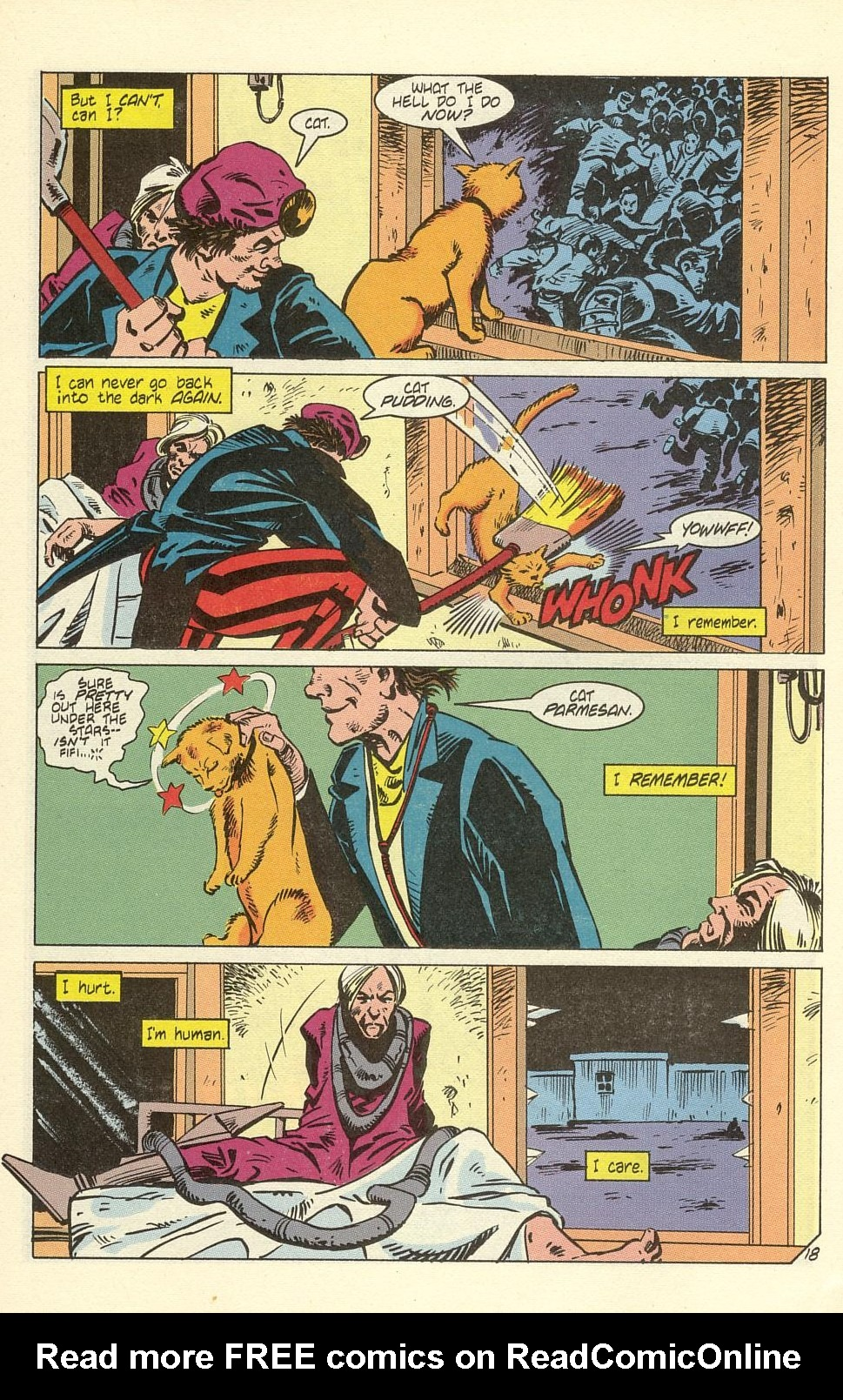 Read online American Flagg! comic -  Issue #40 - 24