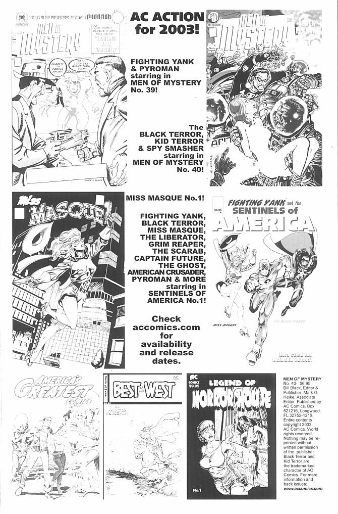 Read online Men of Mystery Comics comic -  Issue #40 - 2