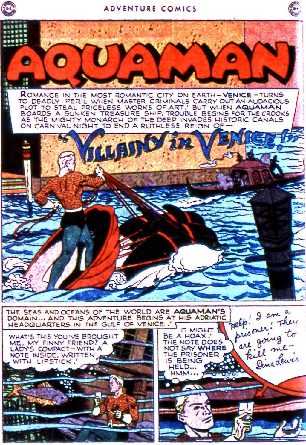Read online Adventure Comics (1938) comic -  Issue #123 - 28