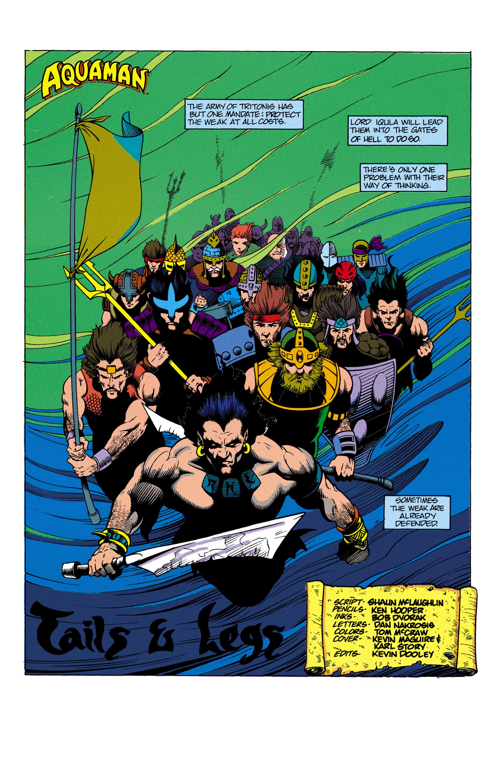 Read online Aquaman (1991) comic -  Issue #4 - 2