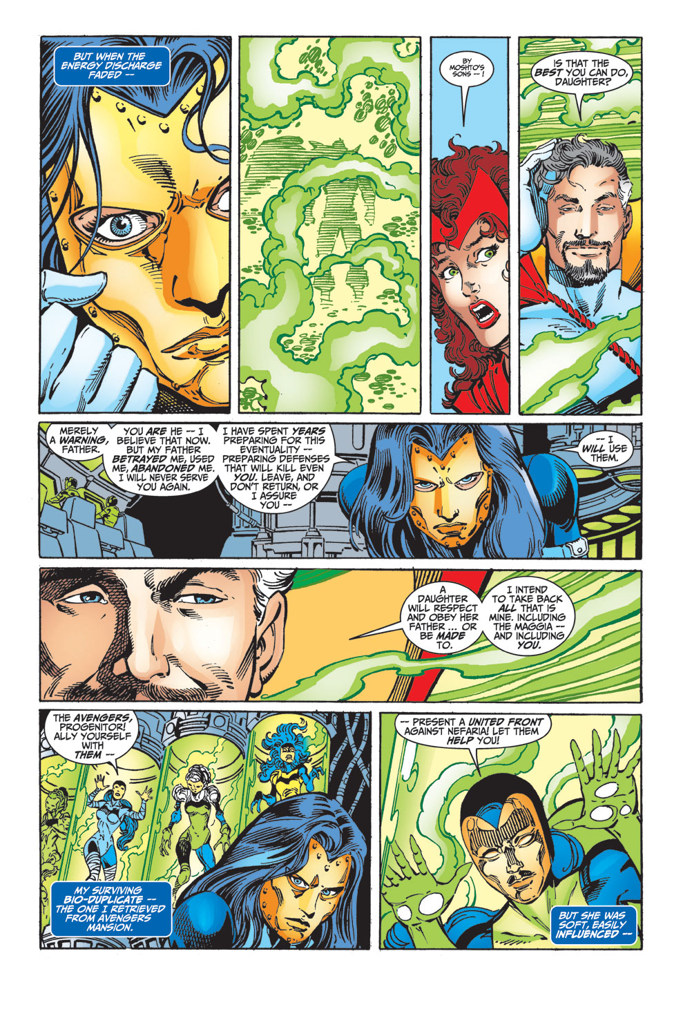 Read online Avengers (1998) comic -  Issue #33 - 9