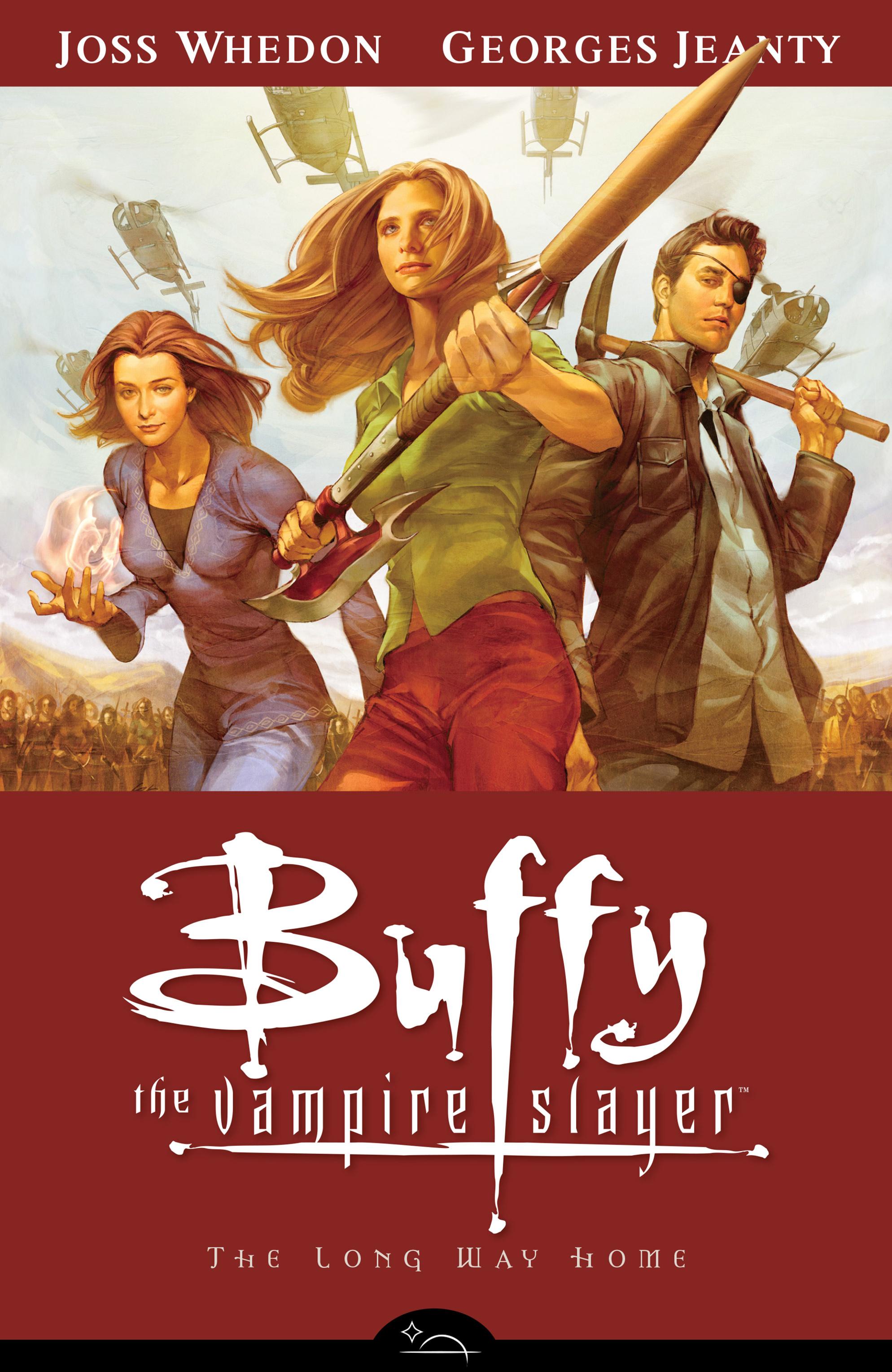 Buffy the Vampire Slayer Season Eight _TPB_1_-_The_Long_Way_Home Page 1