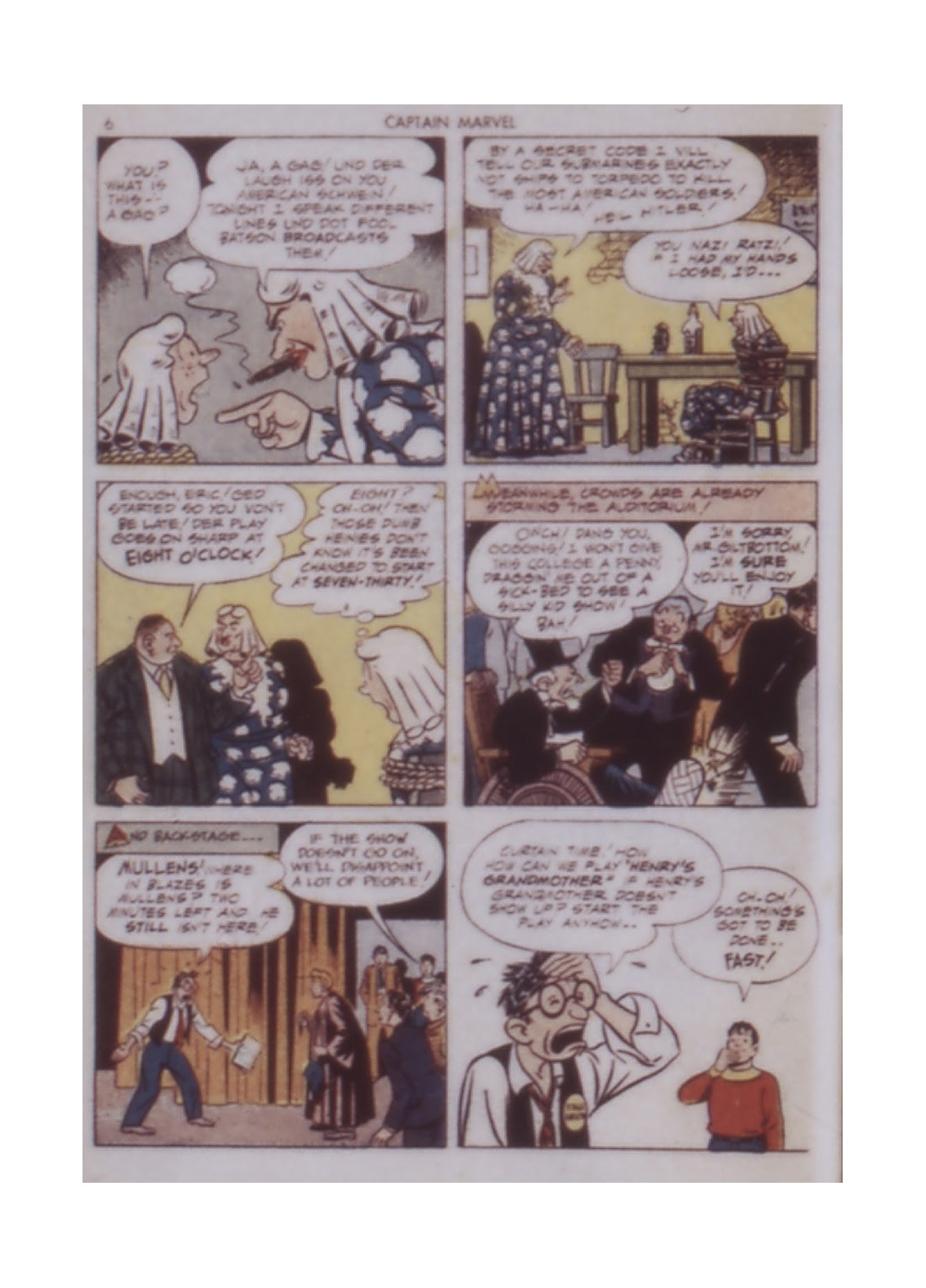 Captain Marvel Adventures issue 14 - Page 6