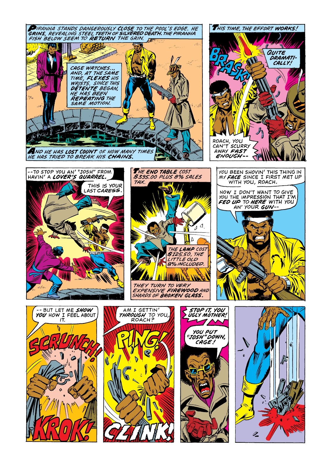 Read online Marvel Masterworks: Luke Cage, Power Man comic -  Issue # TPB 2 (Part 3) - 91