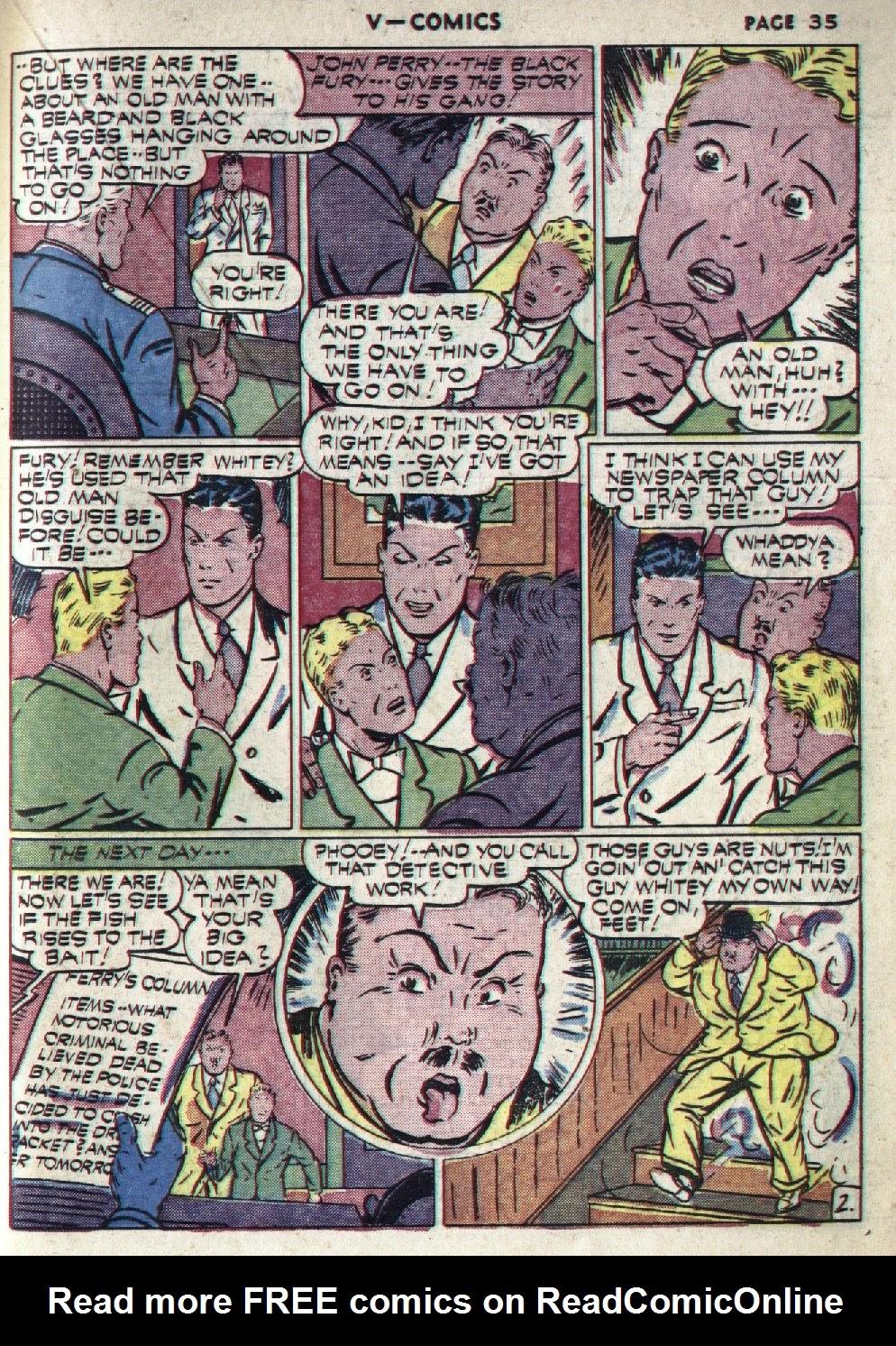 Read online V...- Comics comic -  Issue #1 - 36