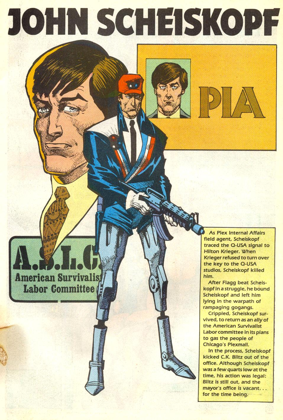Read online American Flagg! comic -  Issue #17 - 28