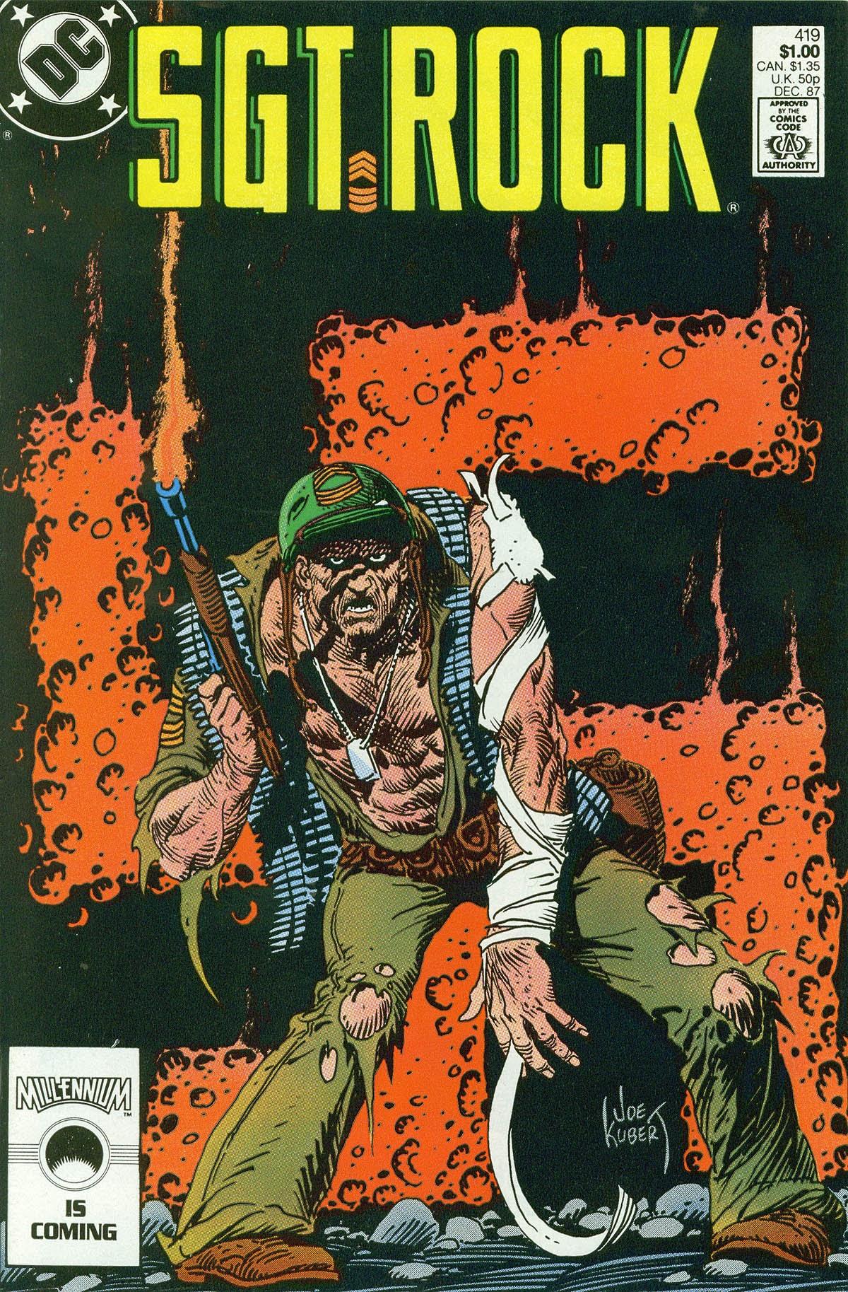 Read online Sgt. Rock comic -  Issue #419 - 1