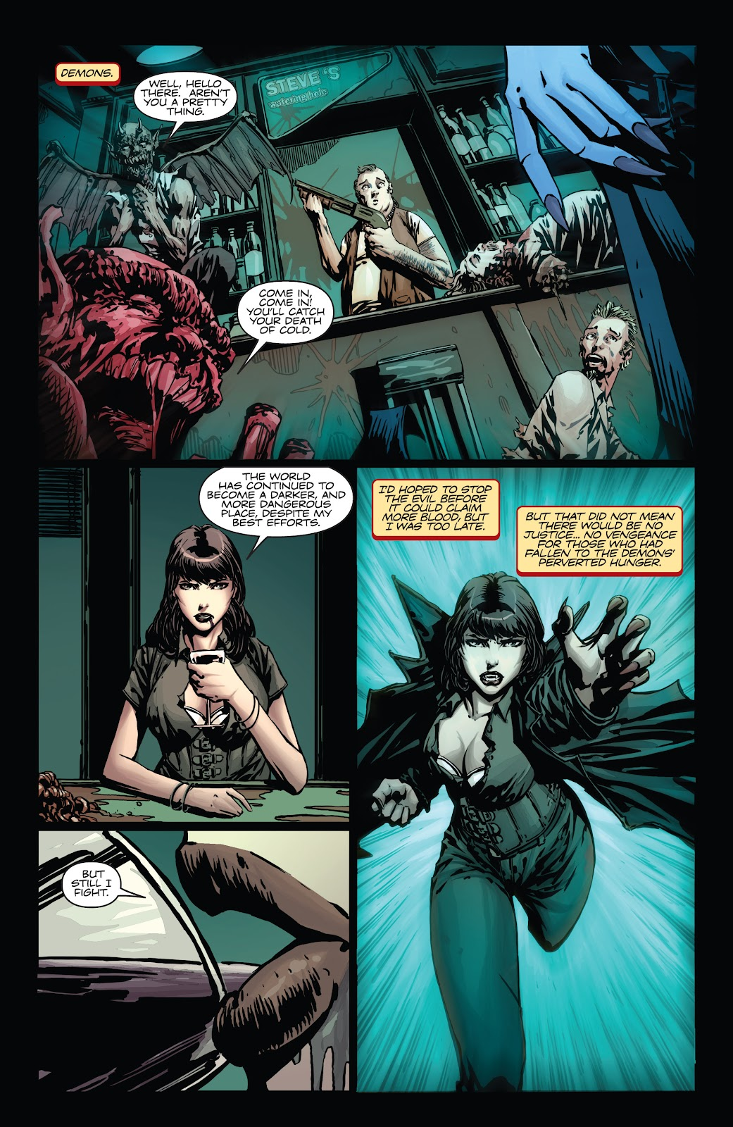 Read online Vampirella Strikes comic -  Issue #1 - 11