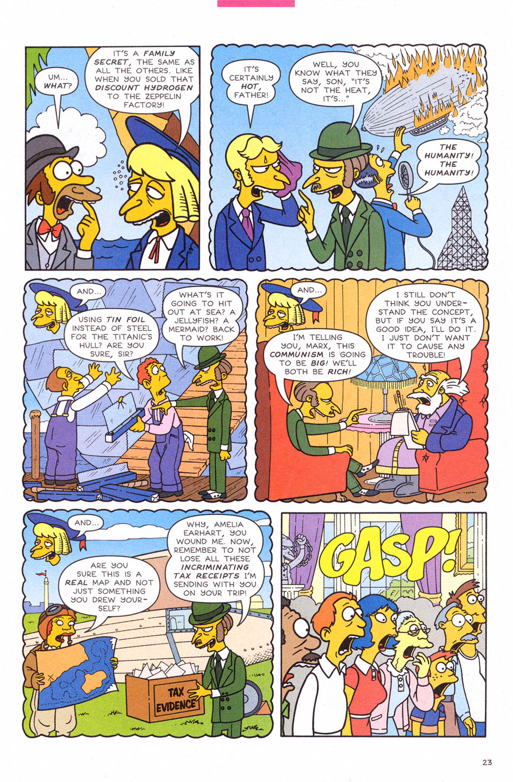 Read online Simpsons Comics comic -  Issue #109 - 24