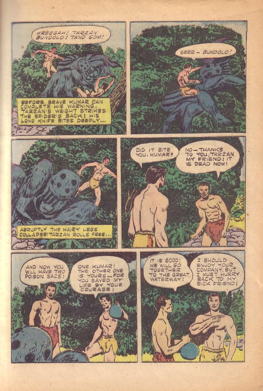 Tarzan (1948) issue 50 - Page 13
