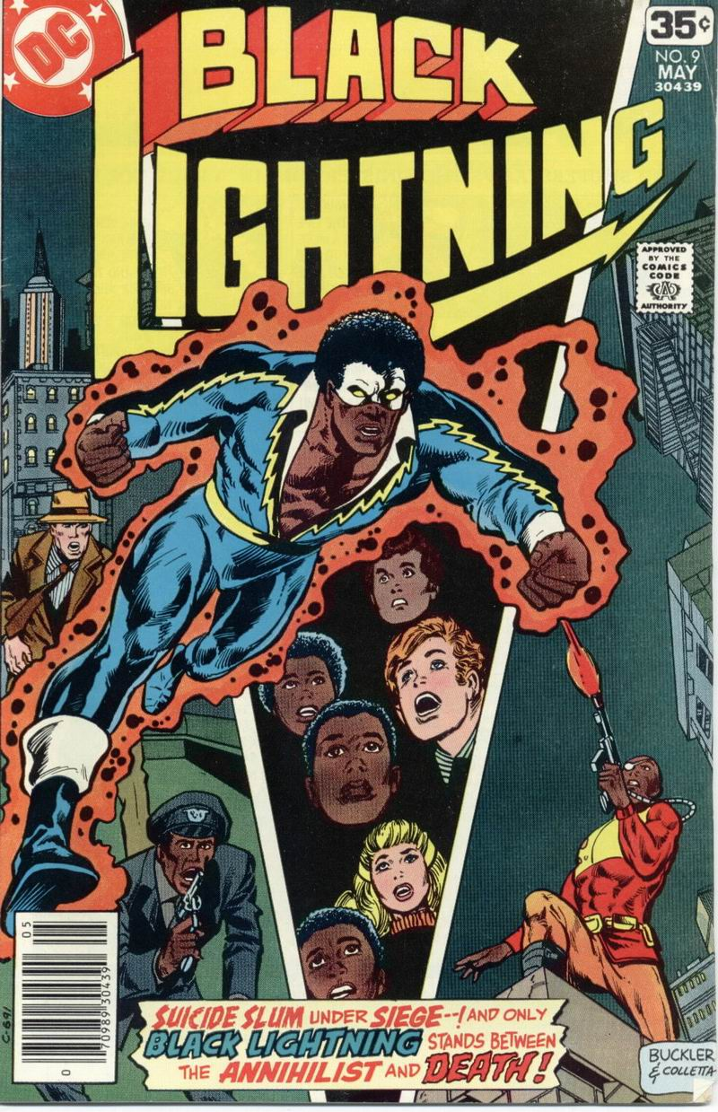Black Lightning (1977) issue 9 - Page 1