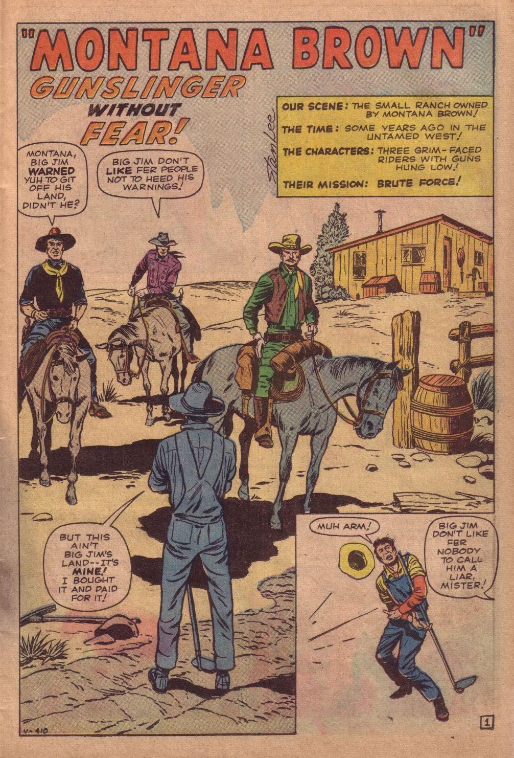 Gunsmoke Western issue 67 - Page 11