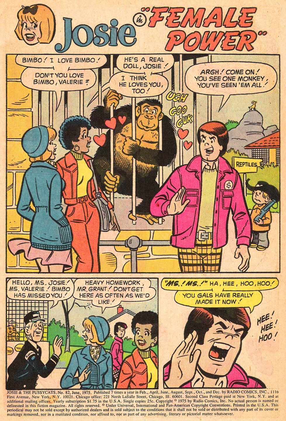 Read online She's Josie comic -  Issue #82 - 3