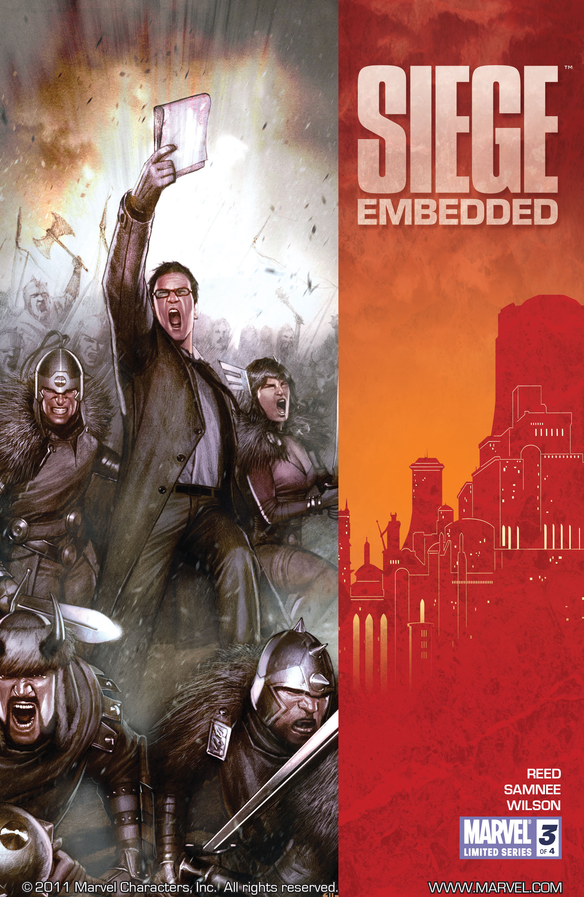 Read online Siege: Embedded comic -  Issue #3 - 1