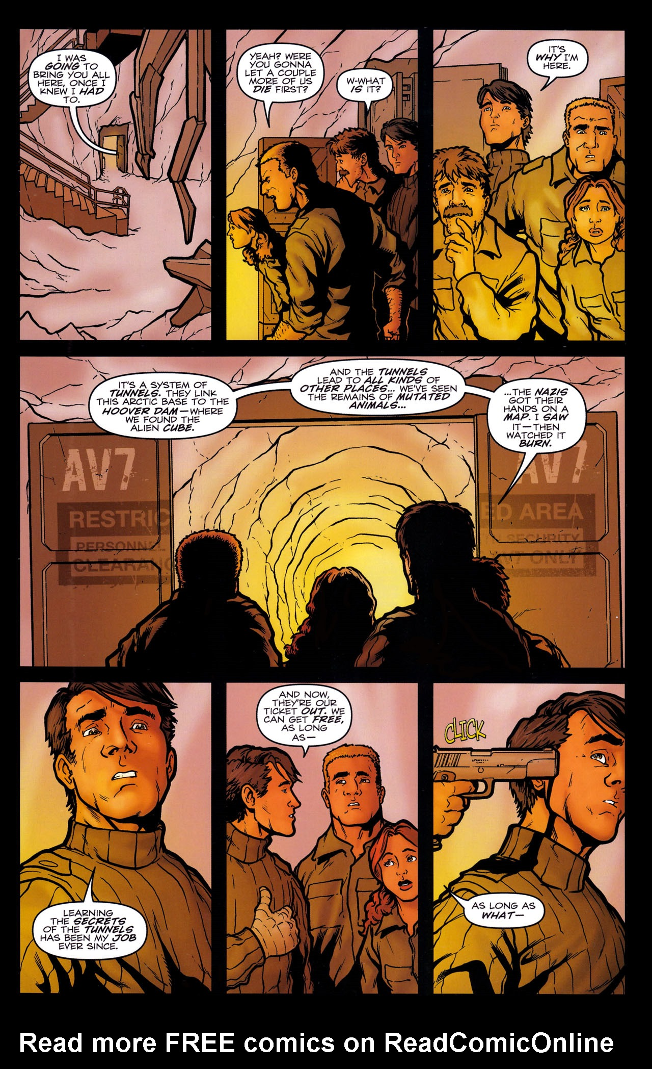 Read online Transformers: Sector 7 comic -  Issue #5 - 16