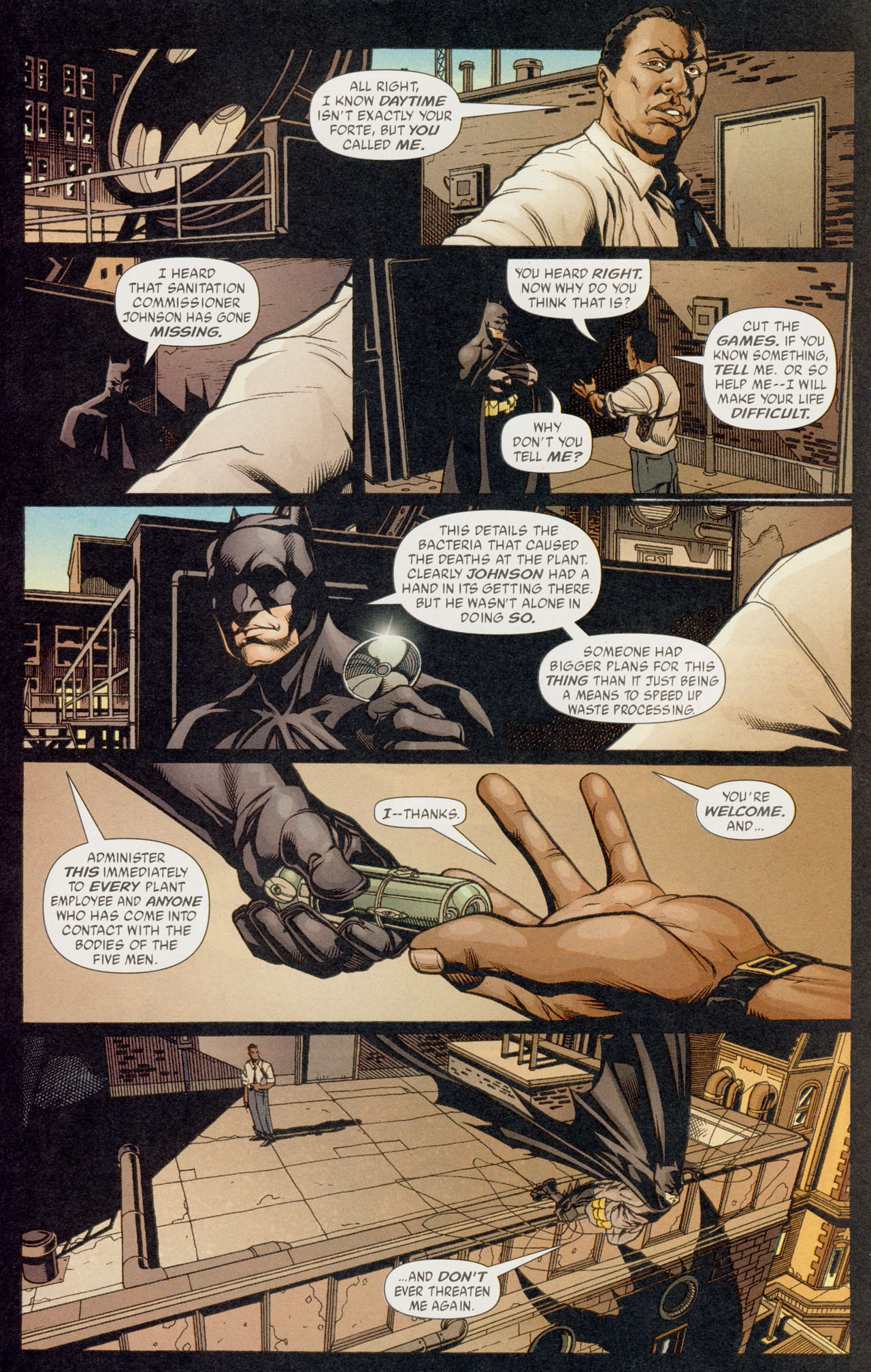Read online Batman War Drums comic -  Issue # TPB - 138