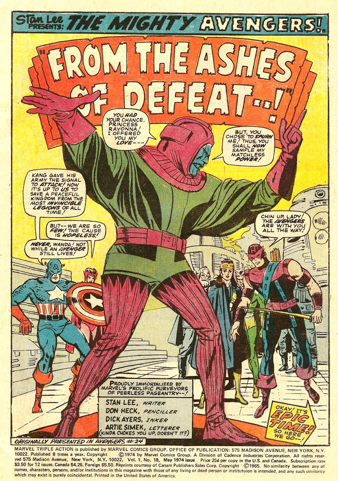 Marvel Triple Action (1972) issue 18 - Page 3