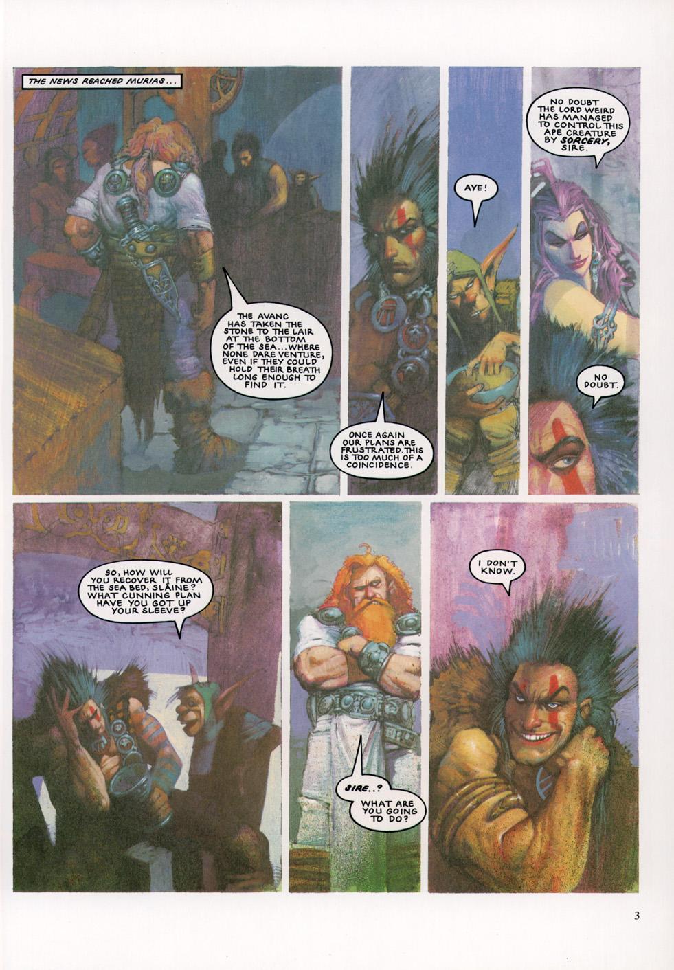 Read online Slaine: The Horned God (1993) comic -  Issue #4 - 4