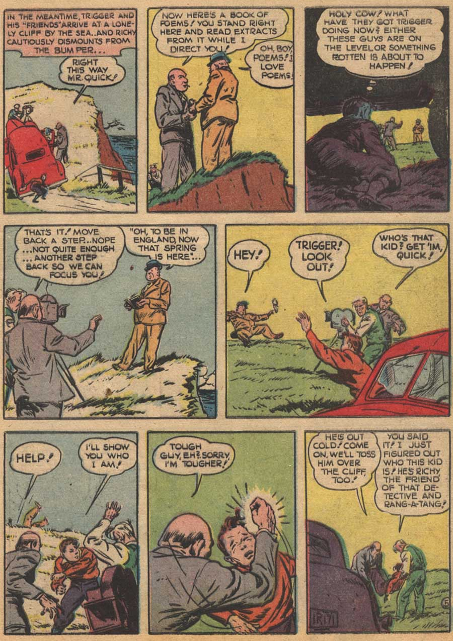 Blue Ribbon Comics (1939) issue 16 - Page 17