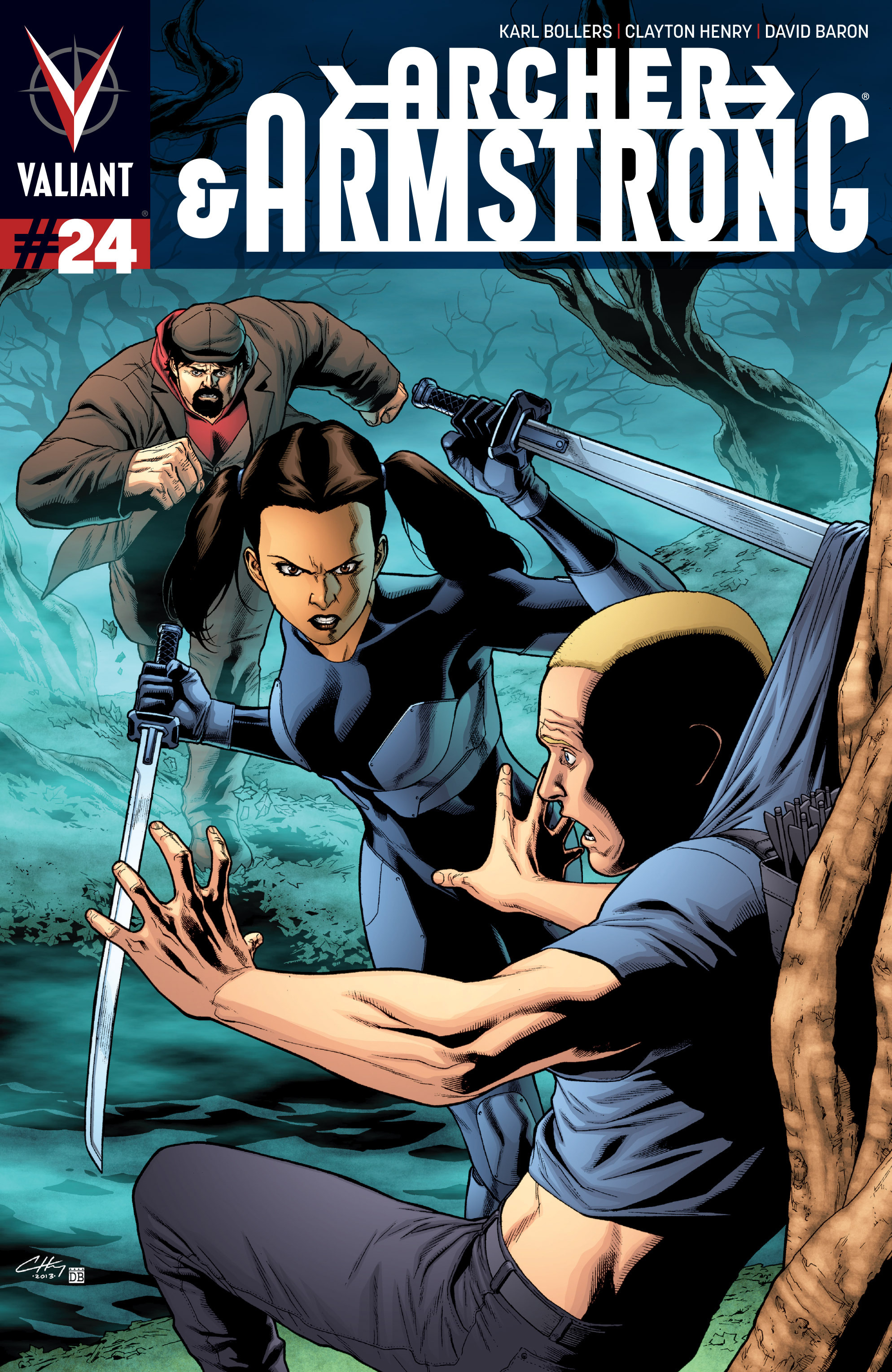 Read online Archer and Armstrong comic -  Issue #Archer and Armstrong _TPB 7 - 7