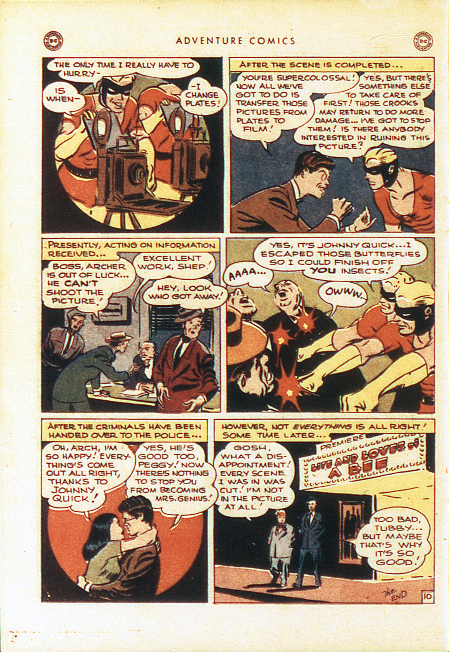 Read online Adventure Comics (1938) comic -  Issue #104 - 21