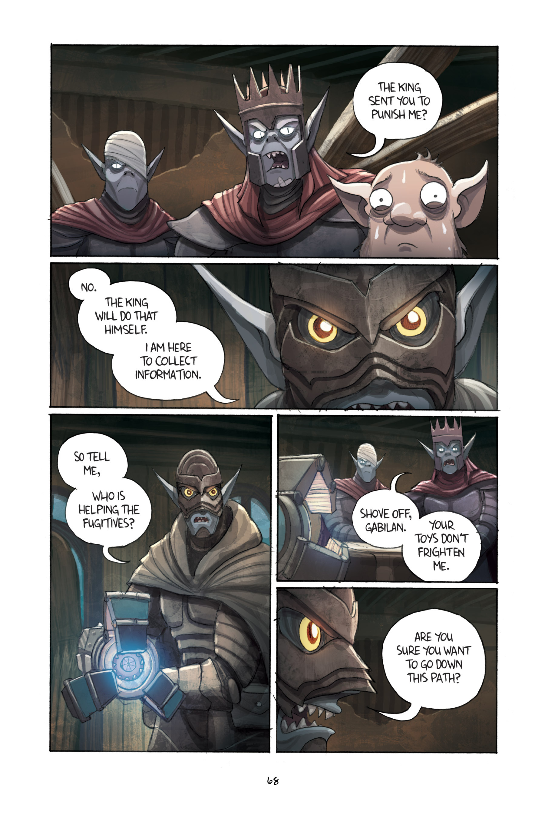 Read online Amulet comic -  Issue #3 - 66