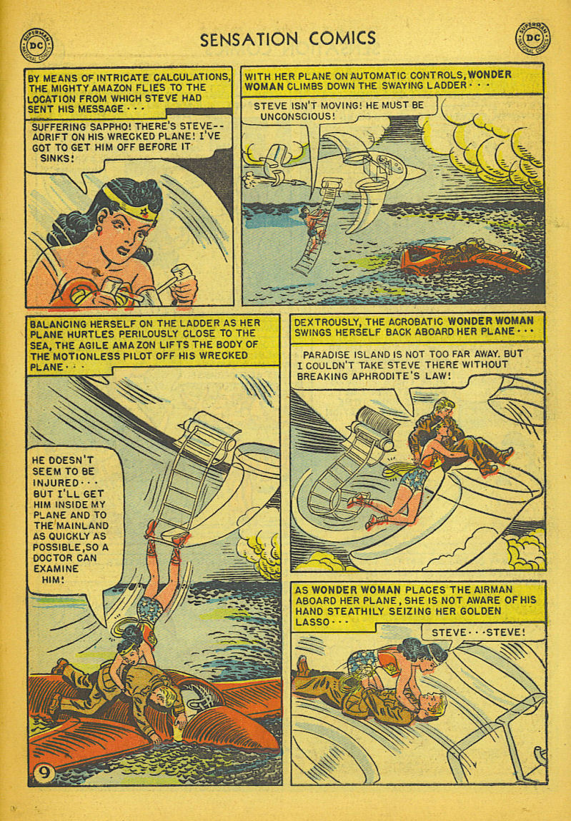 Read online Sensation (Mystery) Comics comic -  Issue #104 - 11