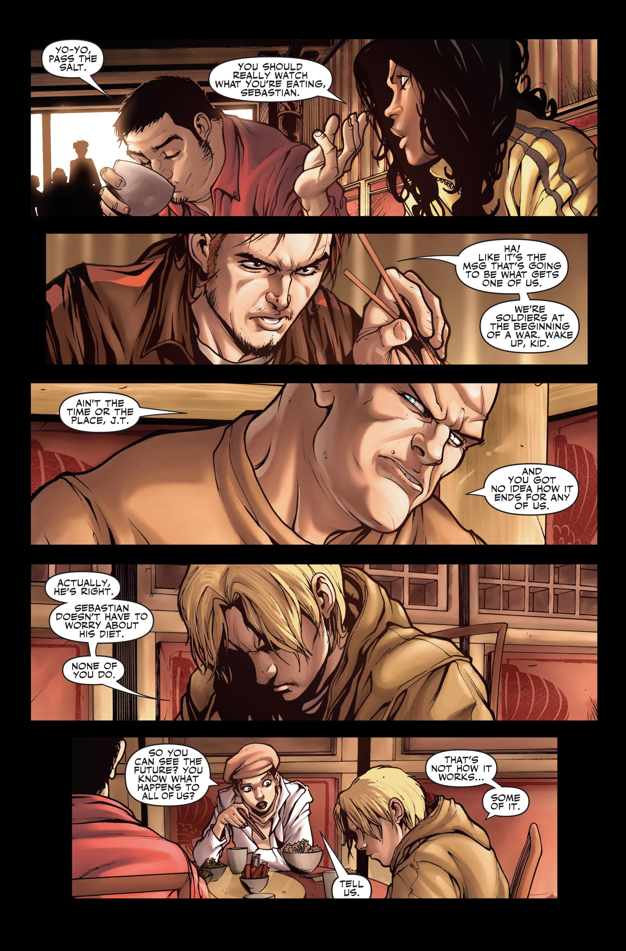 Read online Secret Warriors comic -  Issue #2 - 15