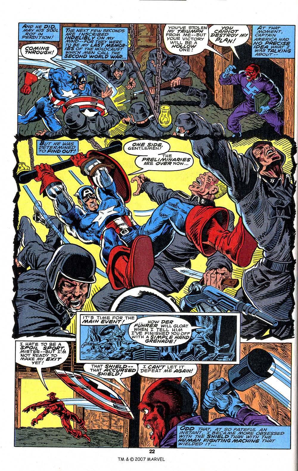 Read online Captain America (1968) comic -  Issue # _Annual 13 - 24