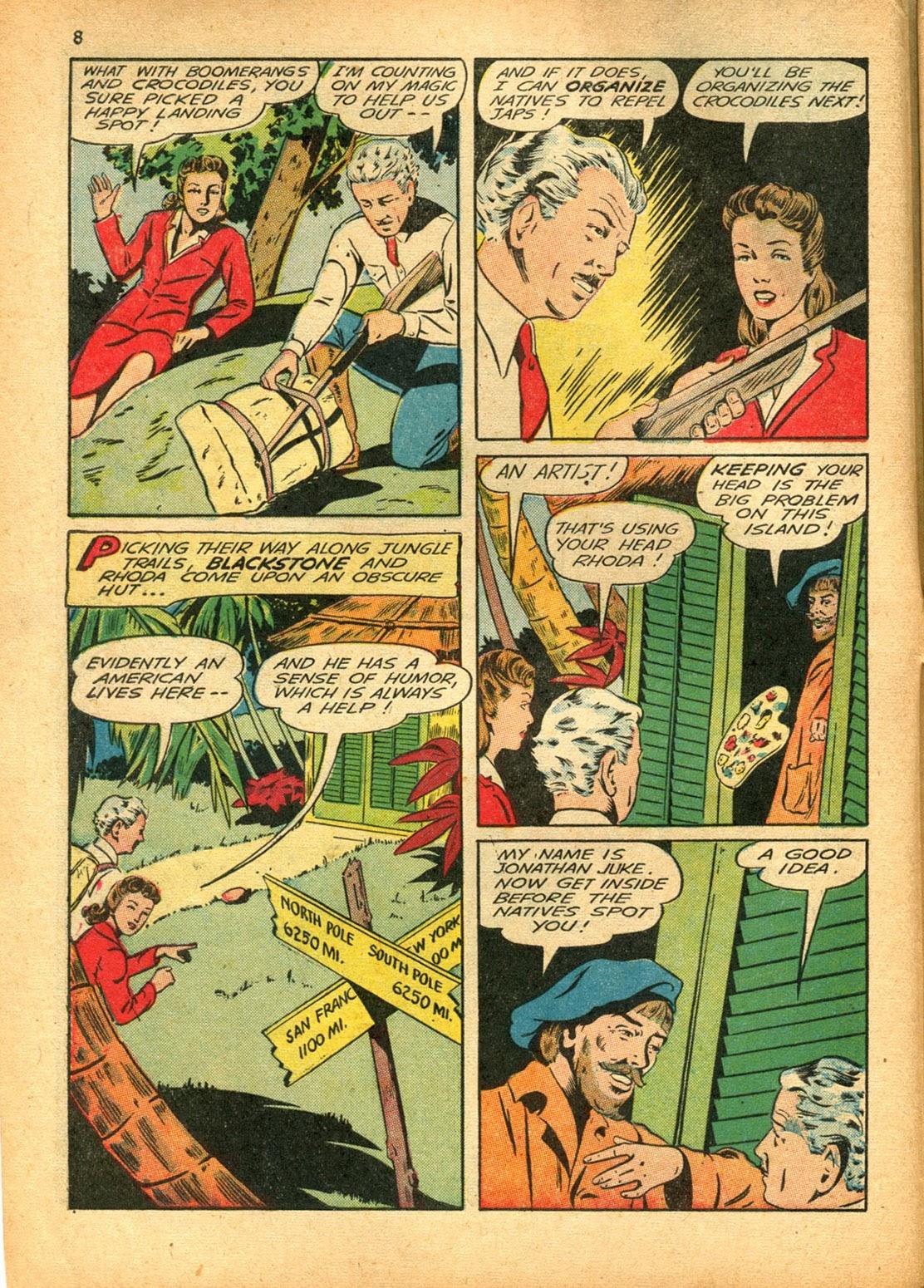Read online Super-Magician Comics comic -  Issue #15 - 8
