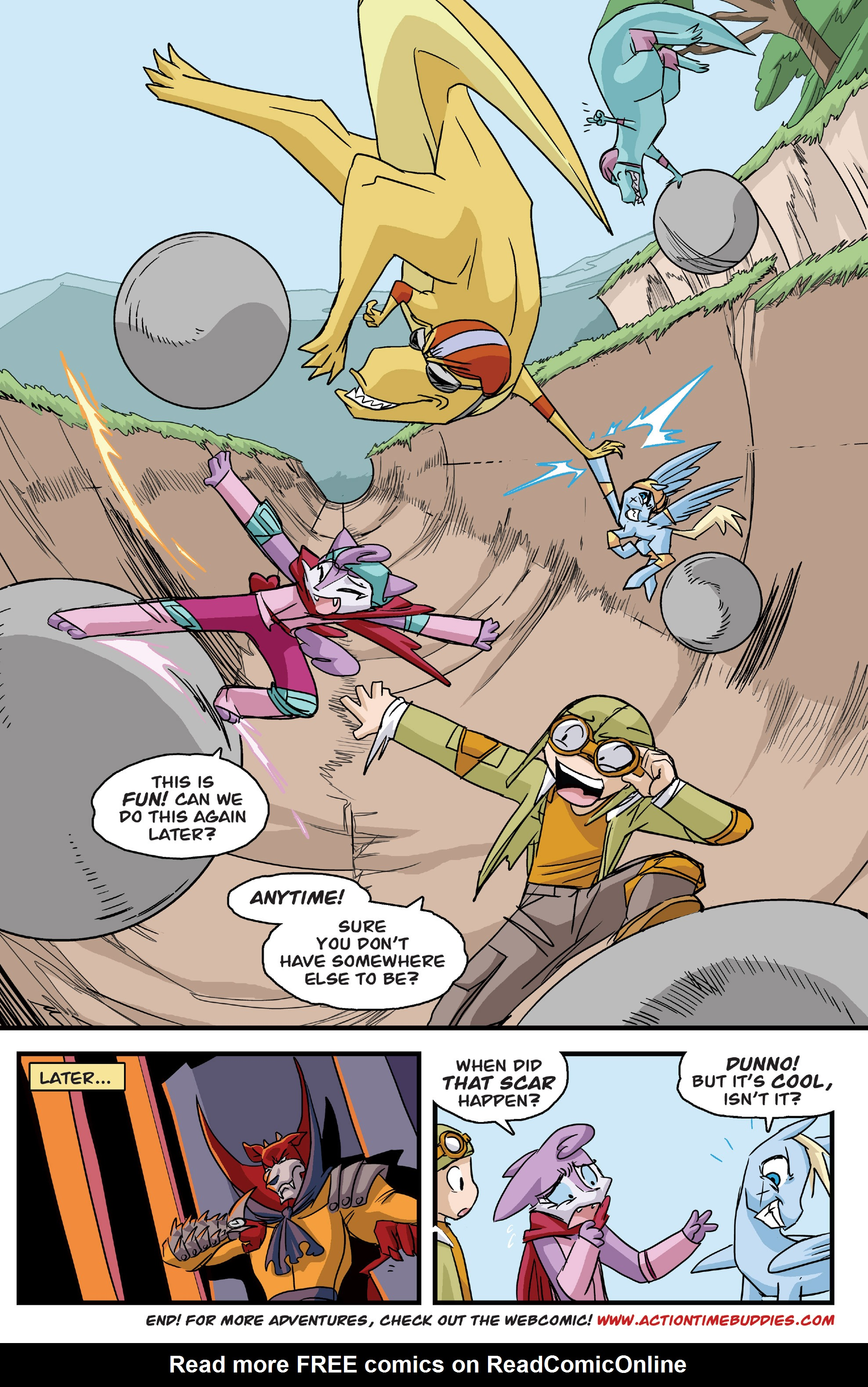 Read online Action Time Buddies comic -  Issue #Action Time Buddies Full - 30