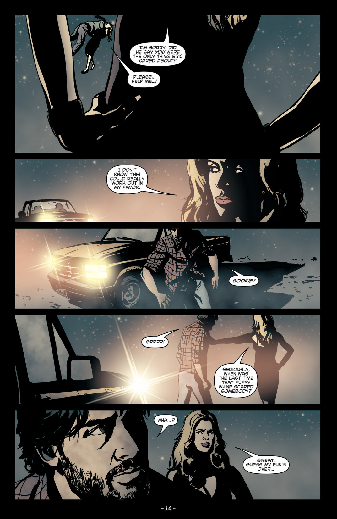 Read online True Blood (2012) comic -  Issue #4 - 16