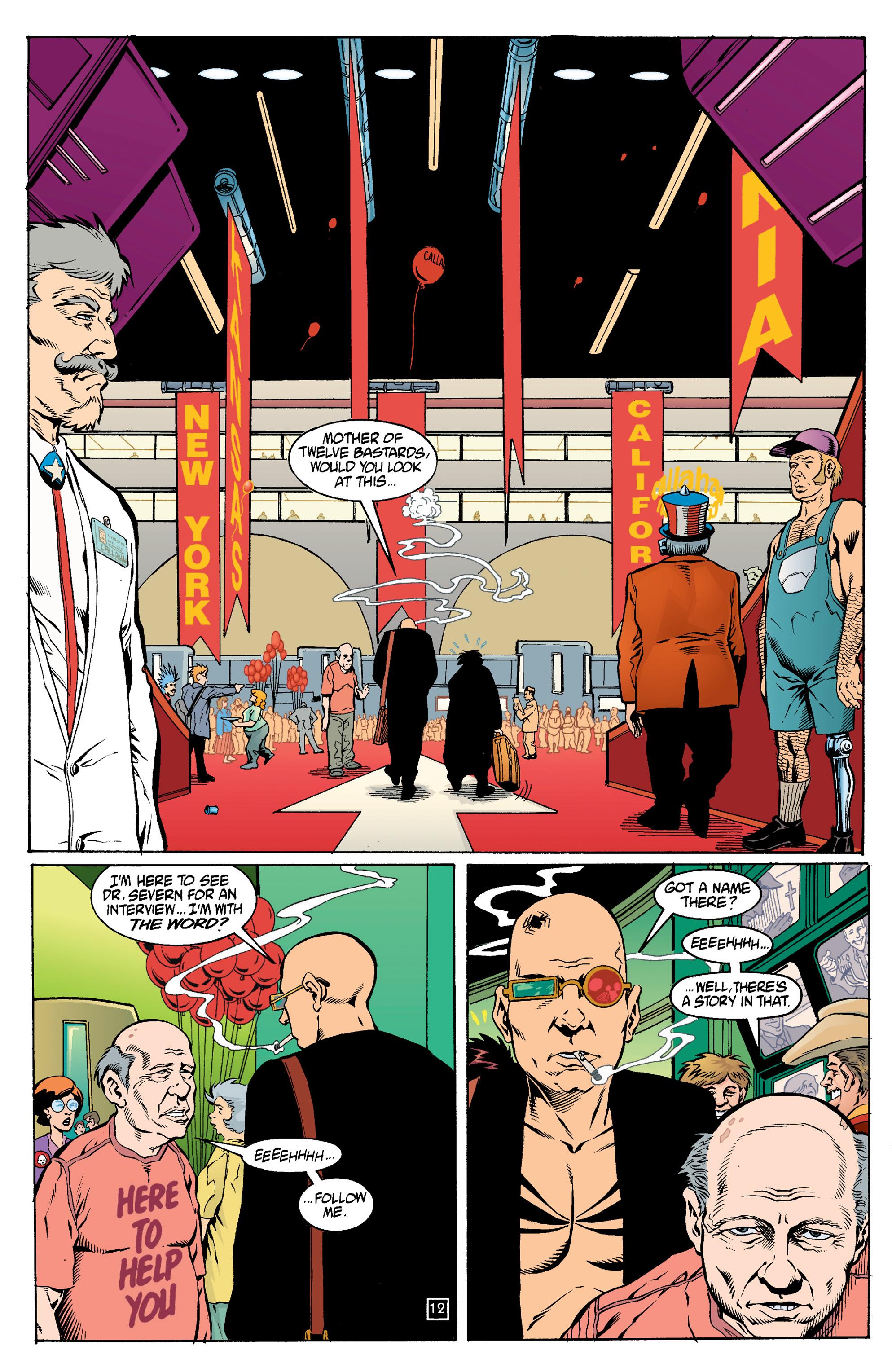 Read online Transmetropolitan comic -  Issue #14 - 13