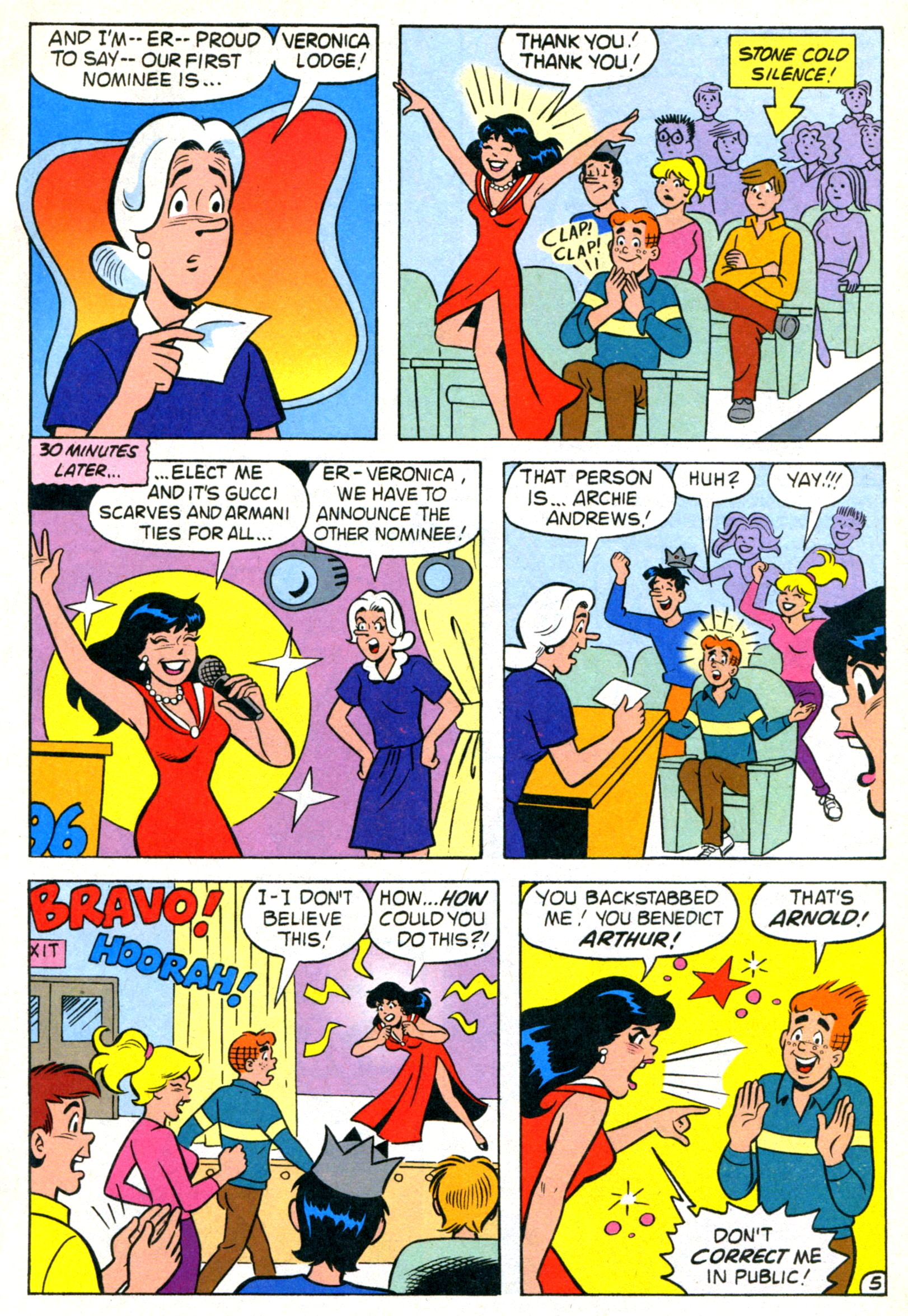 Read online World of Archie comic -  Issue #21 - 7