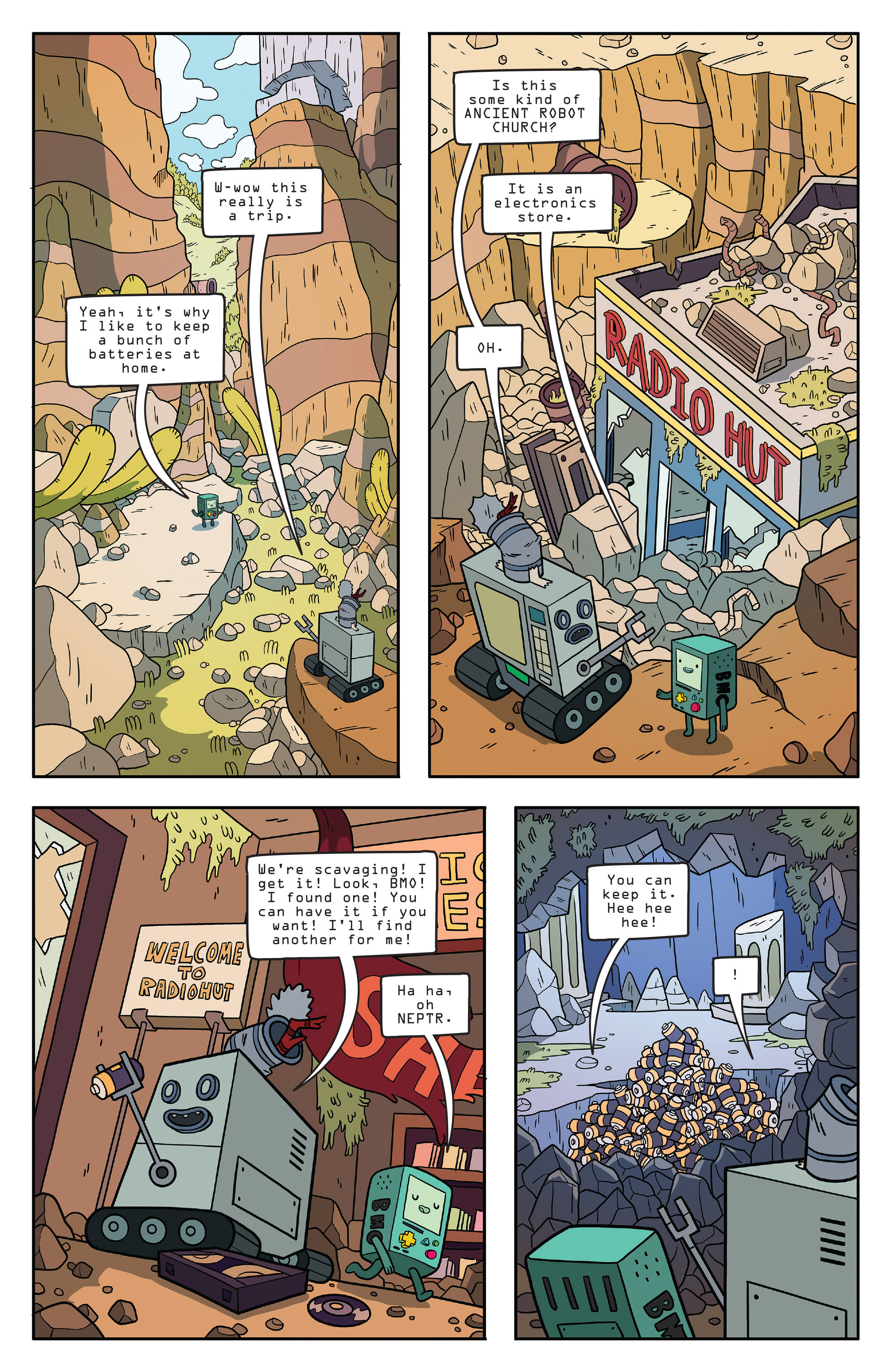 Read online Adventure Time comic -  Issue #56 - 8
